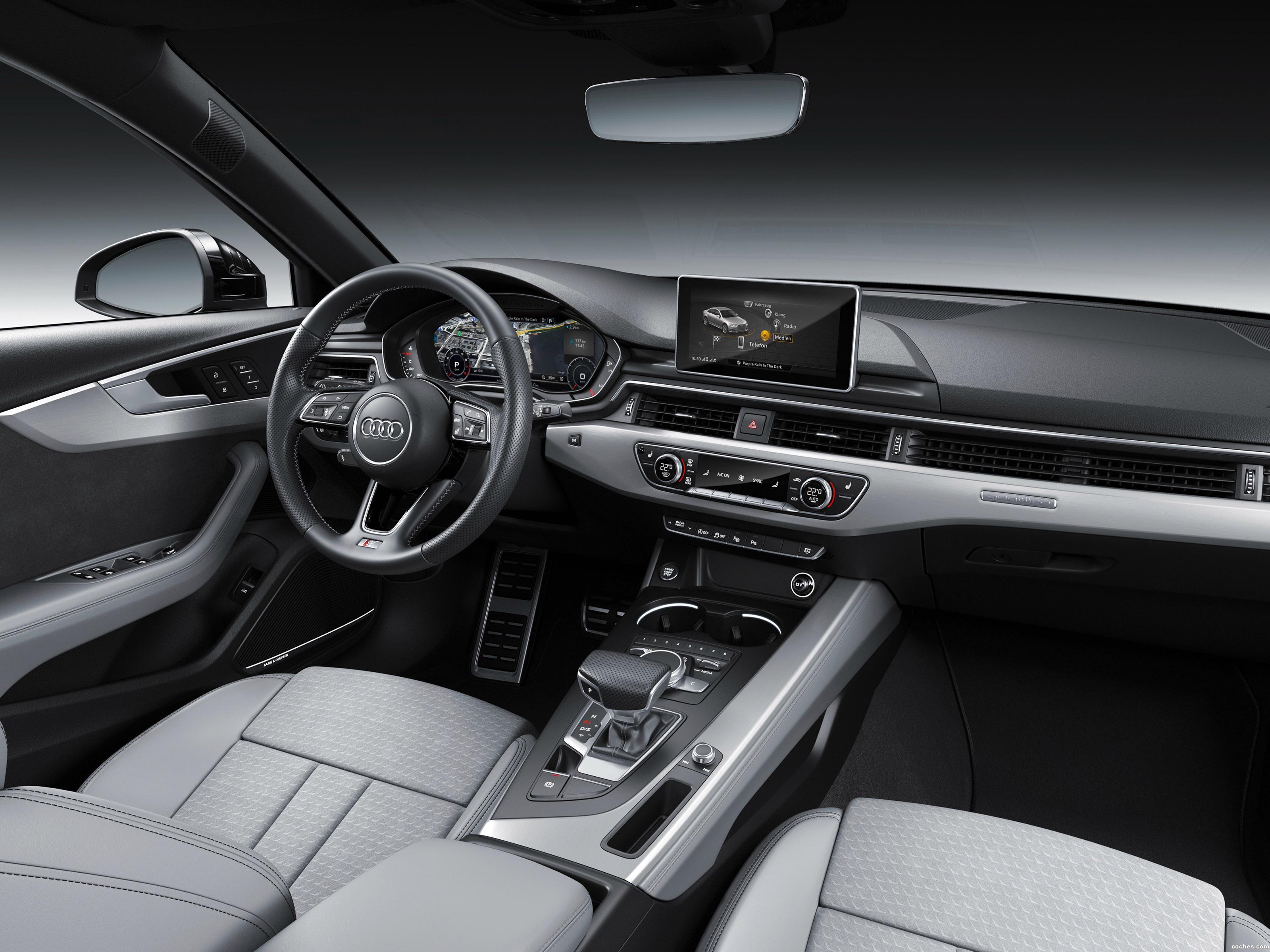 Foto 14 de Audi A4 S Line Quattro 2016