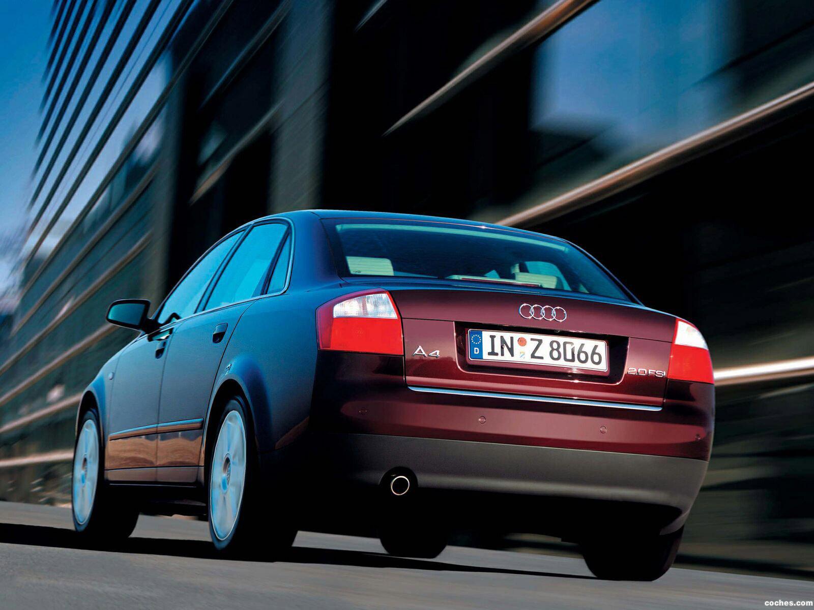 Foto 9 de Audi A4 Sedan 2000