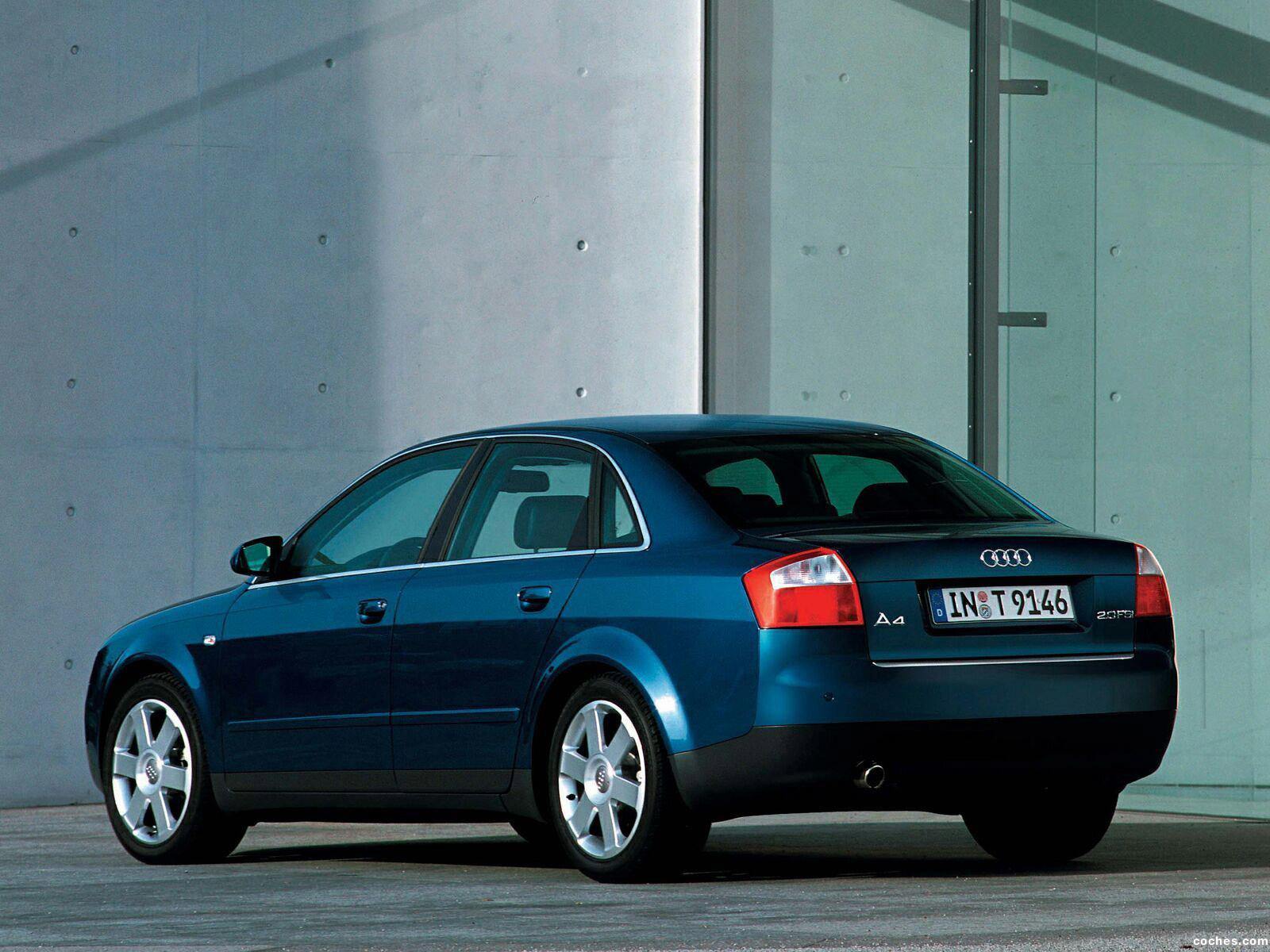 Foto 6 de Audi A4 Sedan 2000