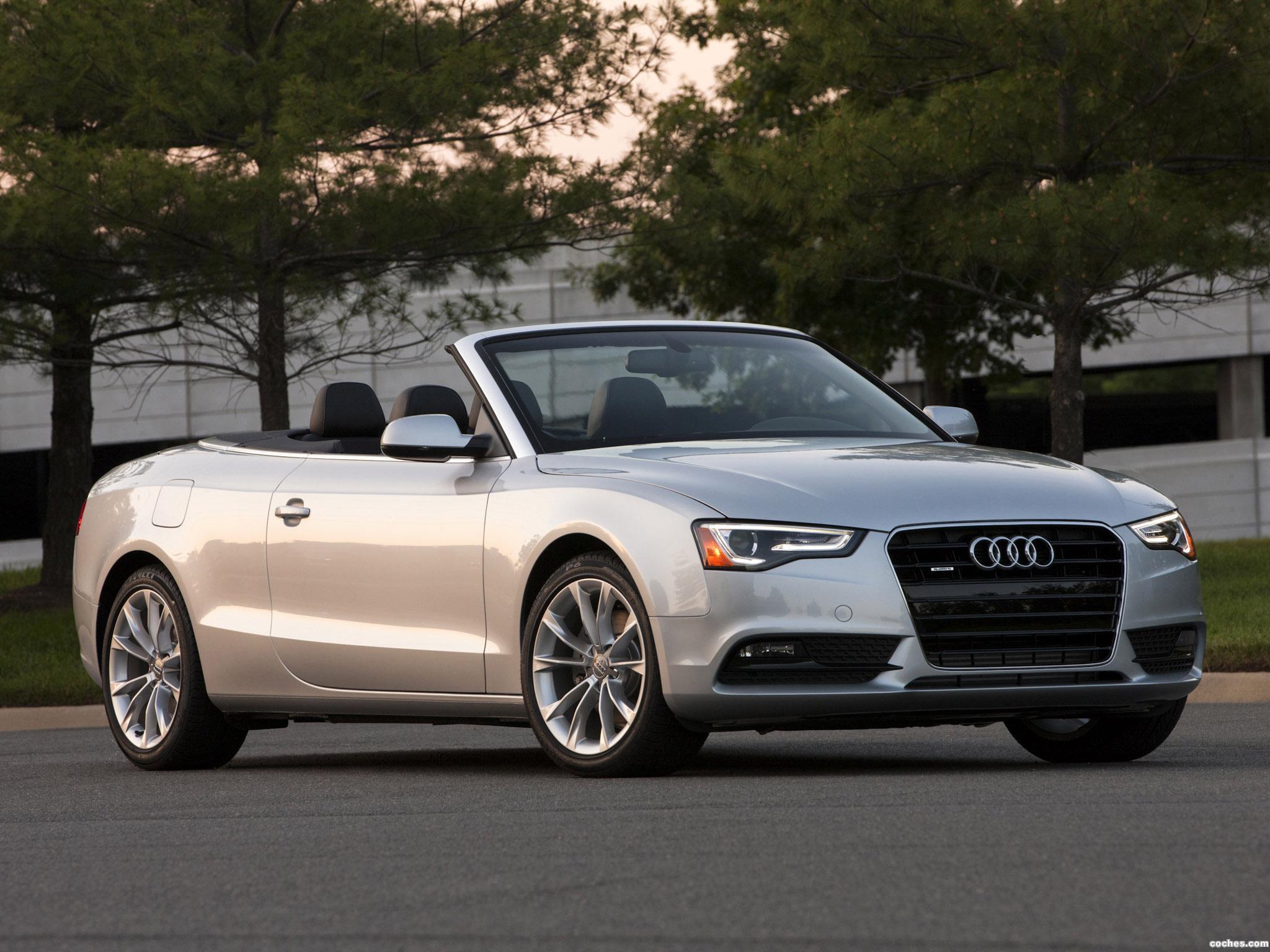Foto 0 de Audi A5 2.0T Cabriolet USA 2012