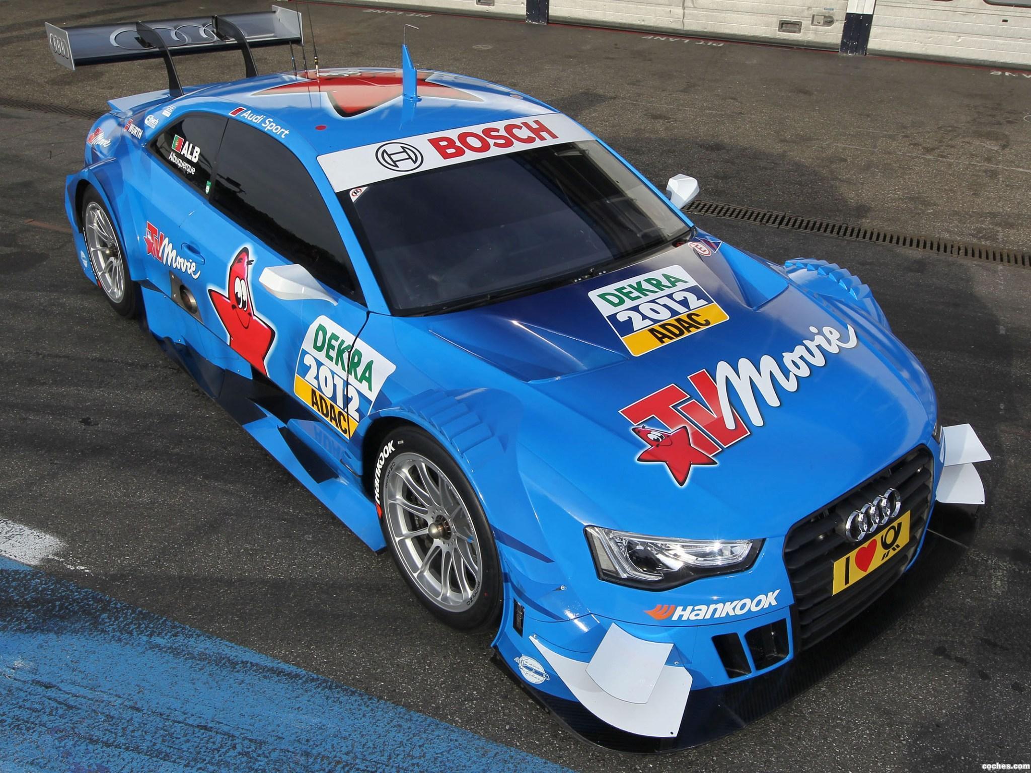 Foto 0 de Audi A5 Coupe DTM 2012