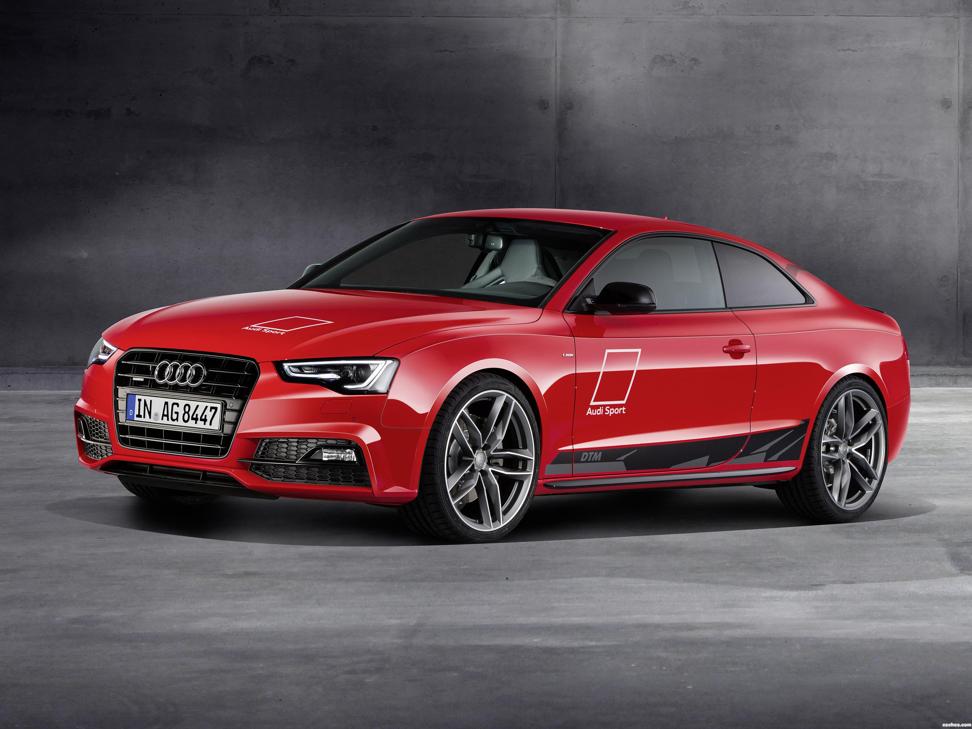 Foto 0 de Audi A5 Coupe DTM Selection 2015