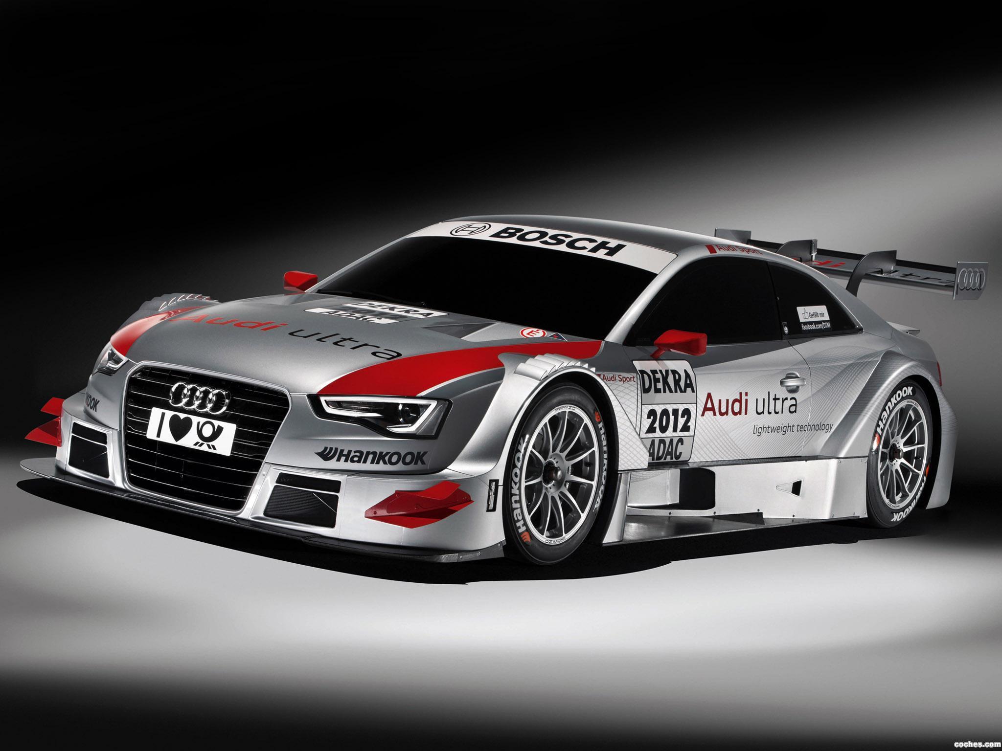 Foto 0 de Audi A5 DTM Coupe 2011