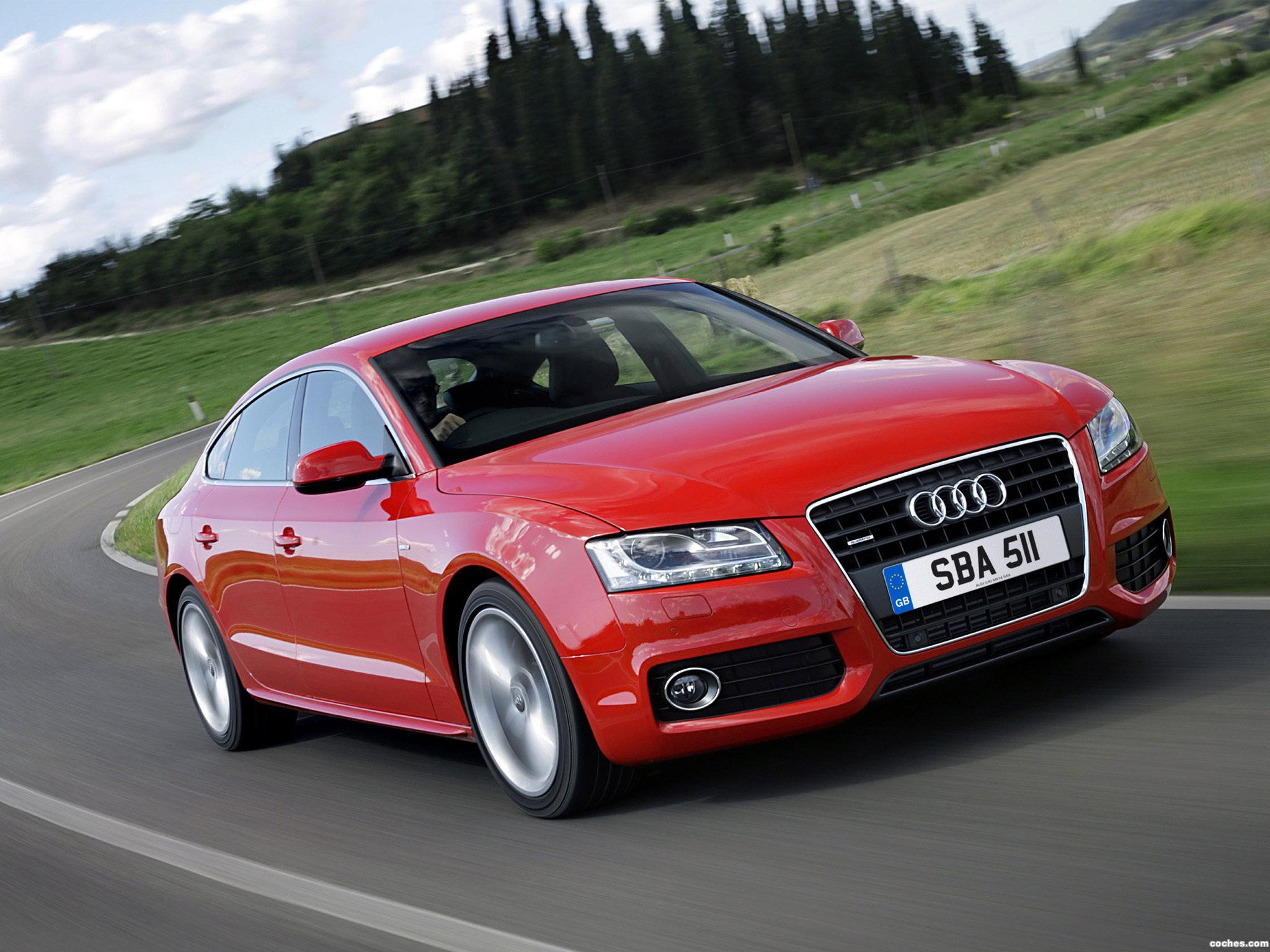 Foto 0 de Audi A5 Sportback 2.0T S-Line UK 2009