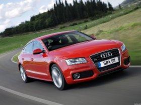Fotos de Audi A5 Sportback 2.0T S-Line UK 2009