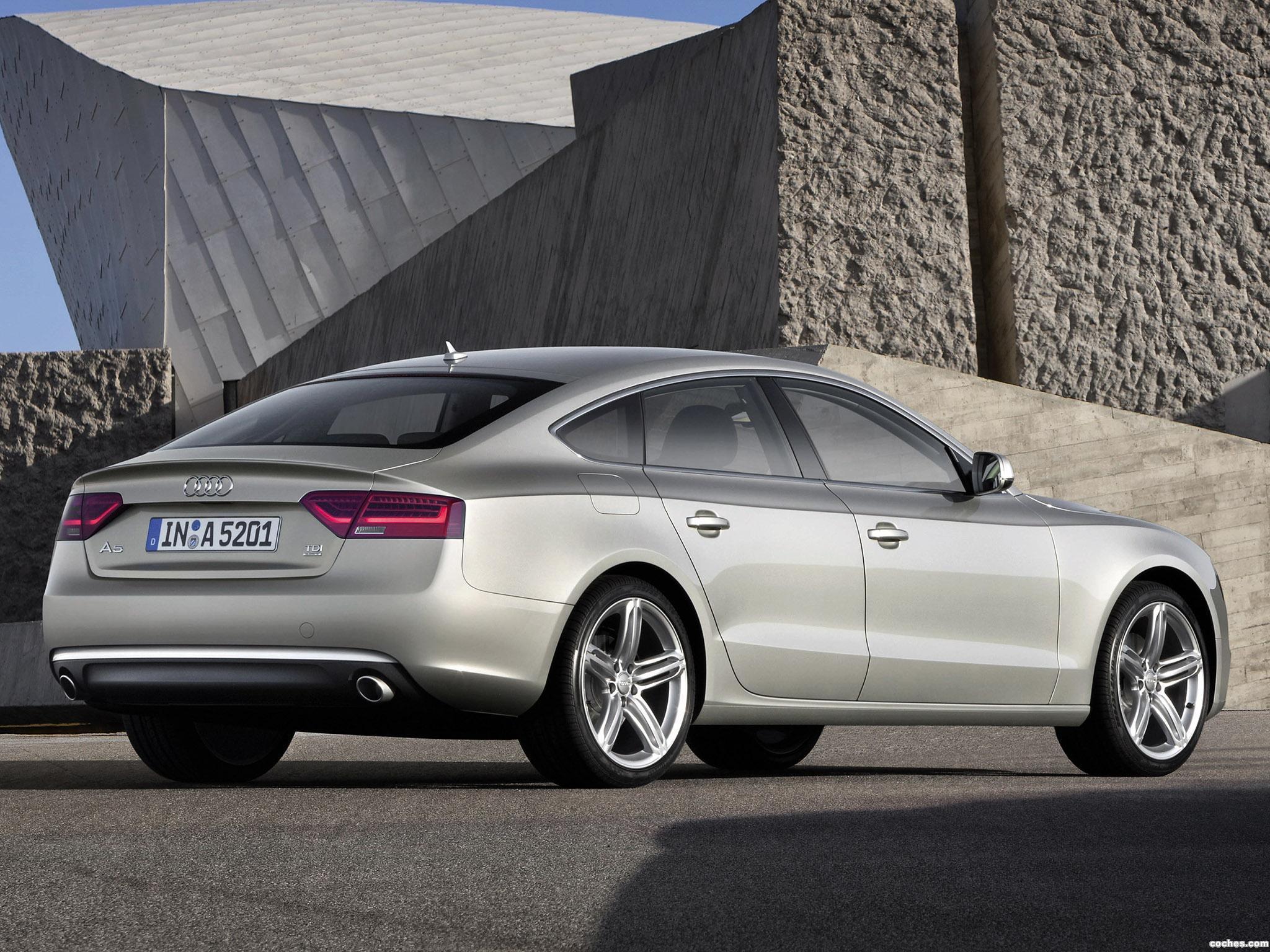 Foto 1 de Audi A5 Sportback 2011