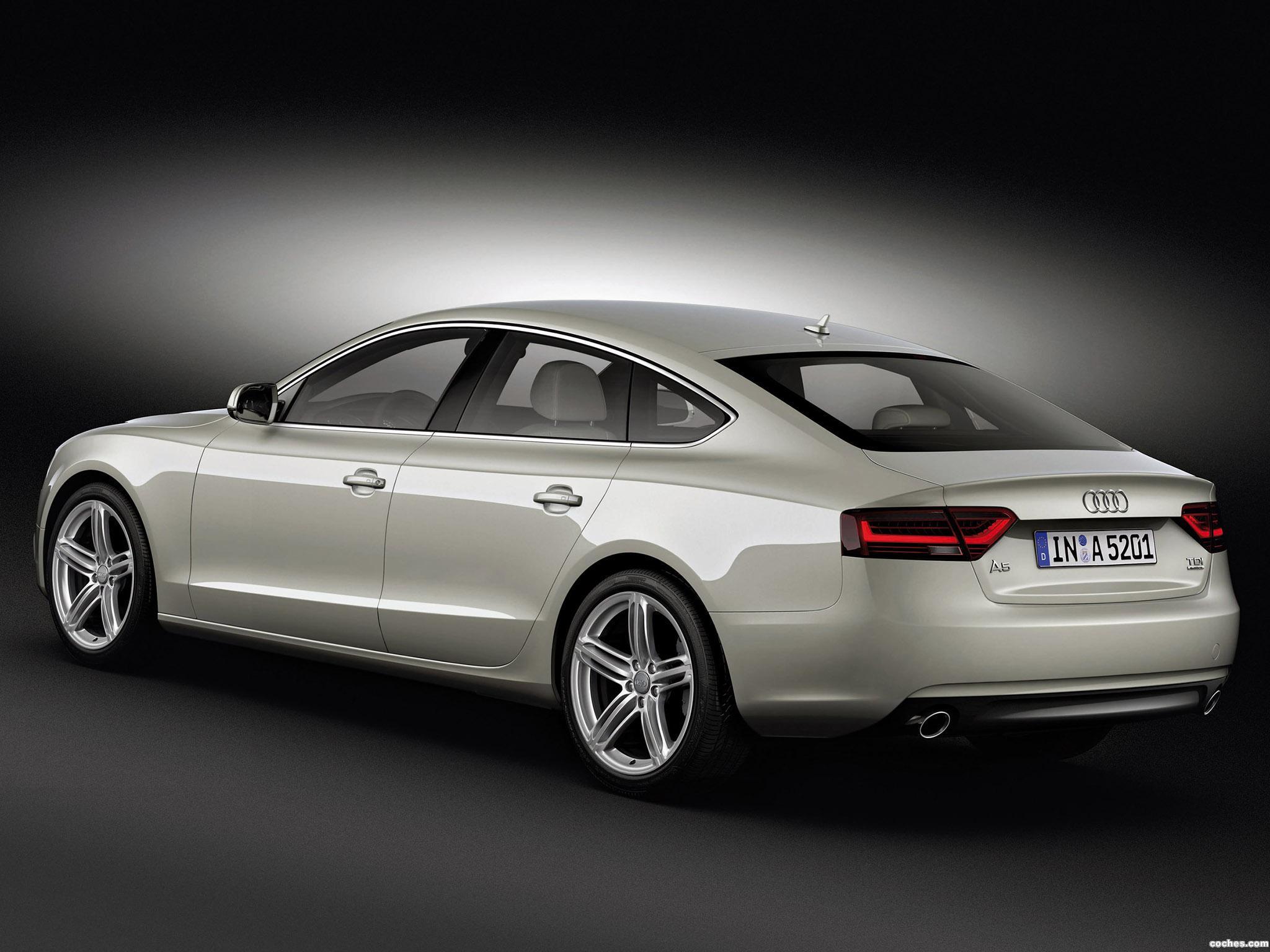 Foto 7 de Audi A5 Sportback 2011