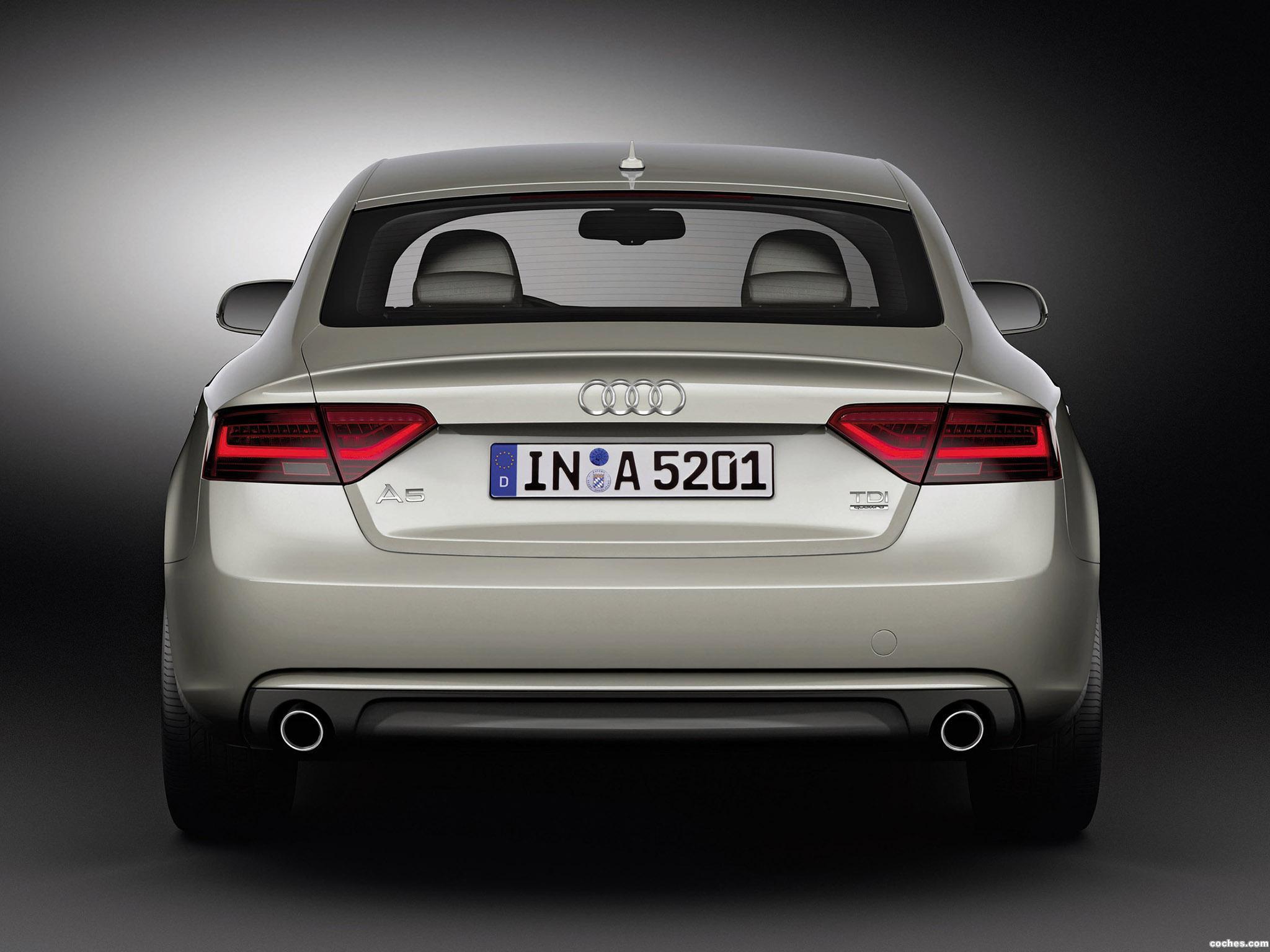 Foto 3 de Audi A5 Sportback 2011