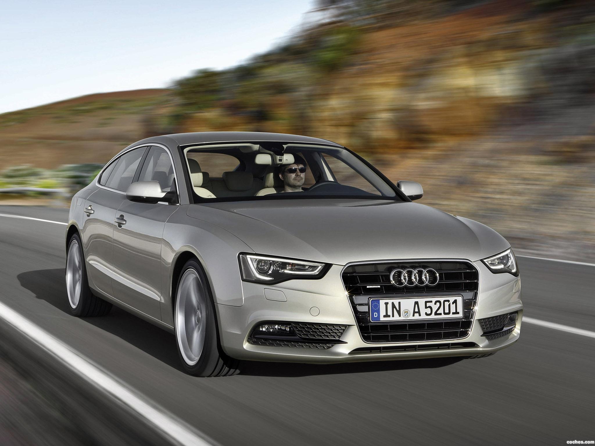 Foto 2 de Audi A5 Sportback 2011