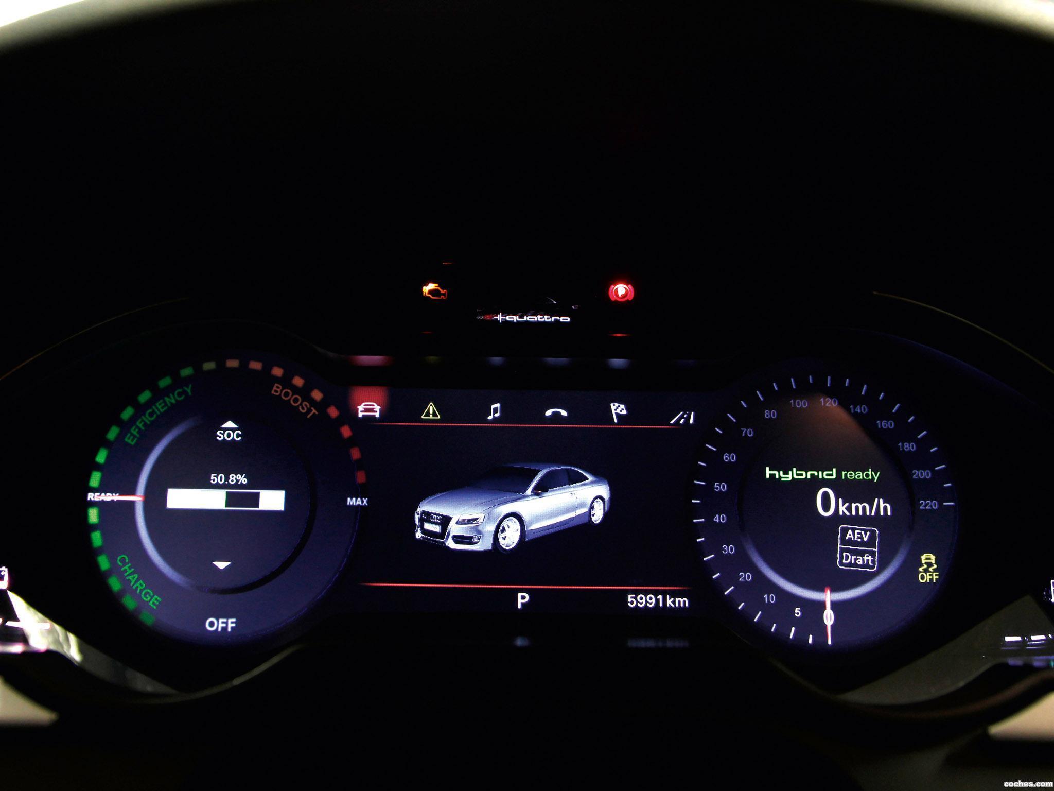 Foto 9 de Audi A5 e-tron Quattro Coupe 2011
