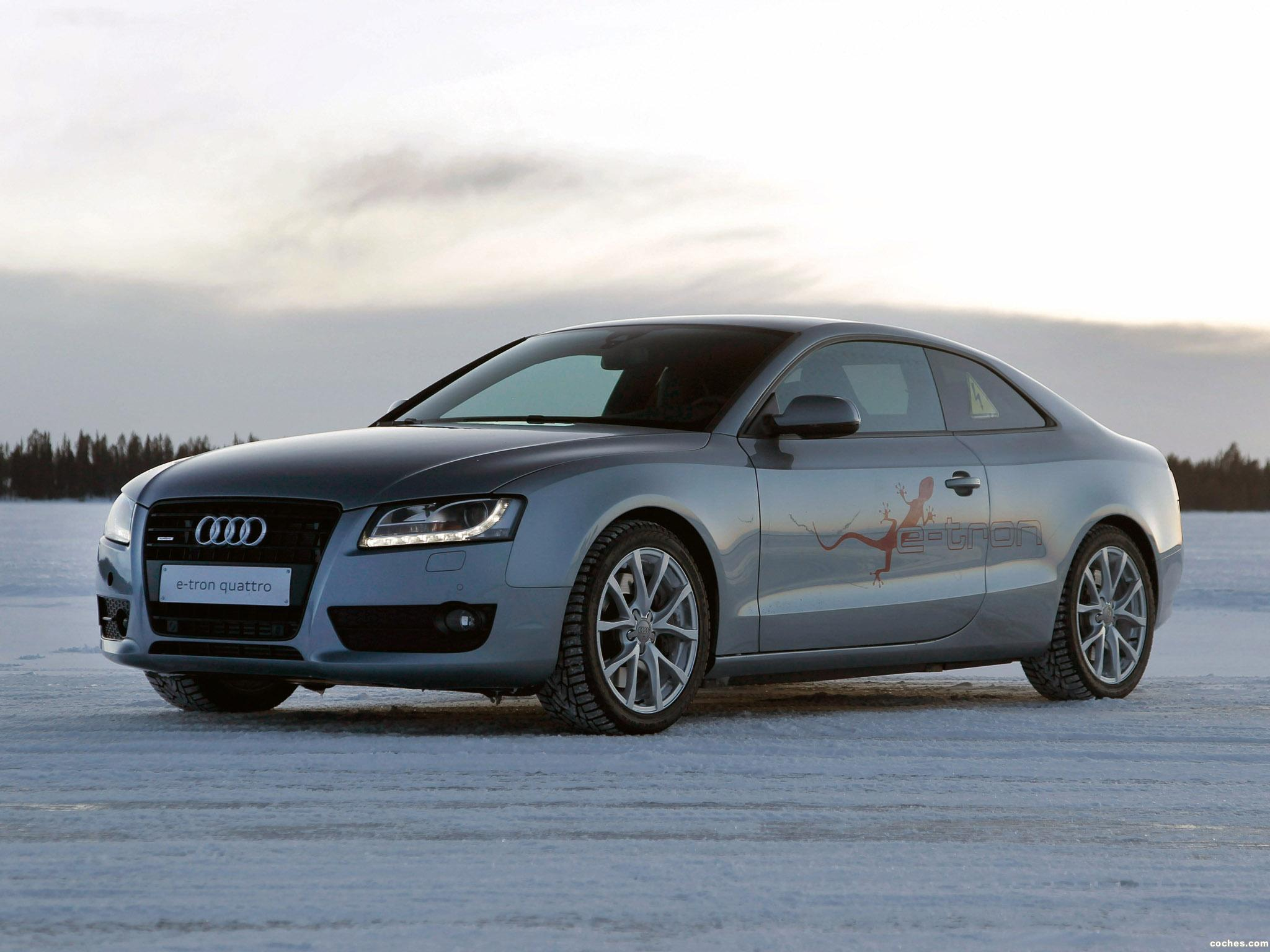Foto 0 de Audi A5 e-tron Quattro Coupe 2011