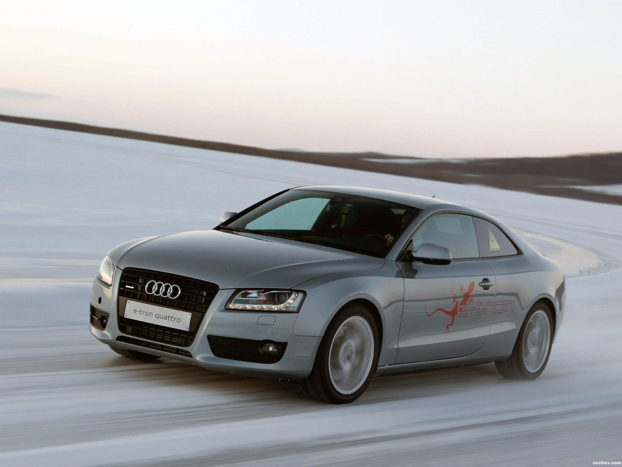 Foto 7 de Audi A5 e-tron Quattro Coupe 2011