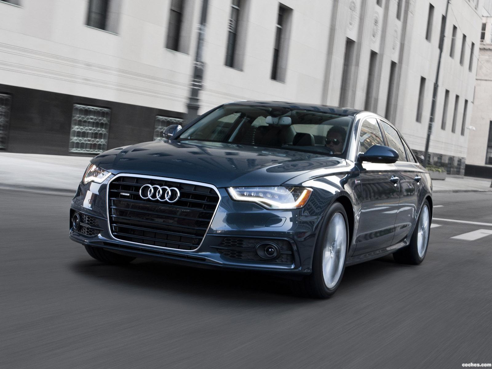 Foto 0 de Audi A6 3.0T S-Line Sedan USA 2011
