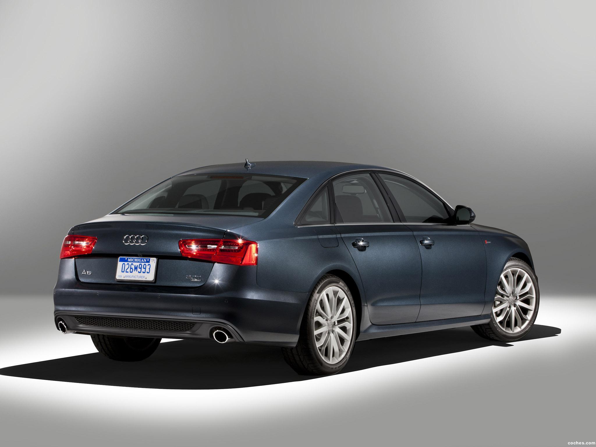 Foto 9 de Audi A6 3.0T S-Line Sedan USA 2011