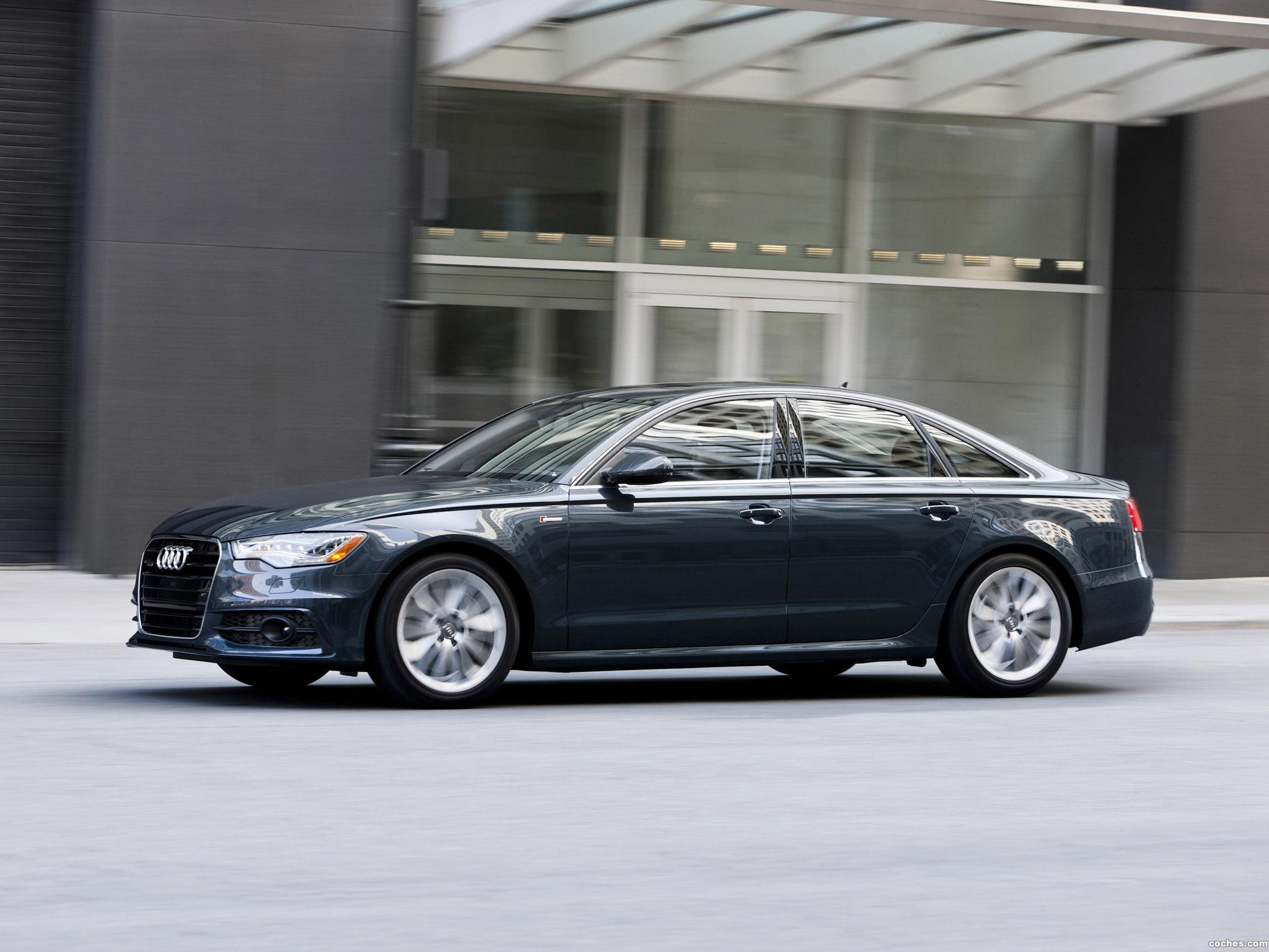 Foto 6 de Audi A6 3.0T S-Line Sedan USA 2011