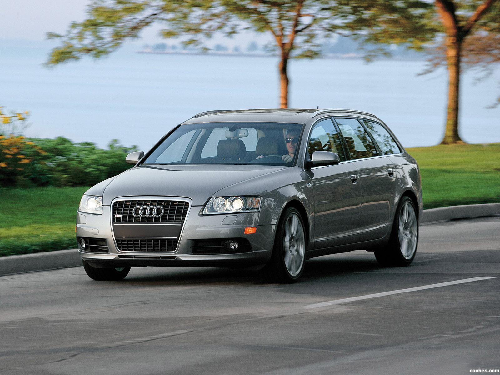 Foto 1 de Audi A6 3.2 Quattro S-Line Avant USA 2007
