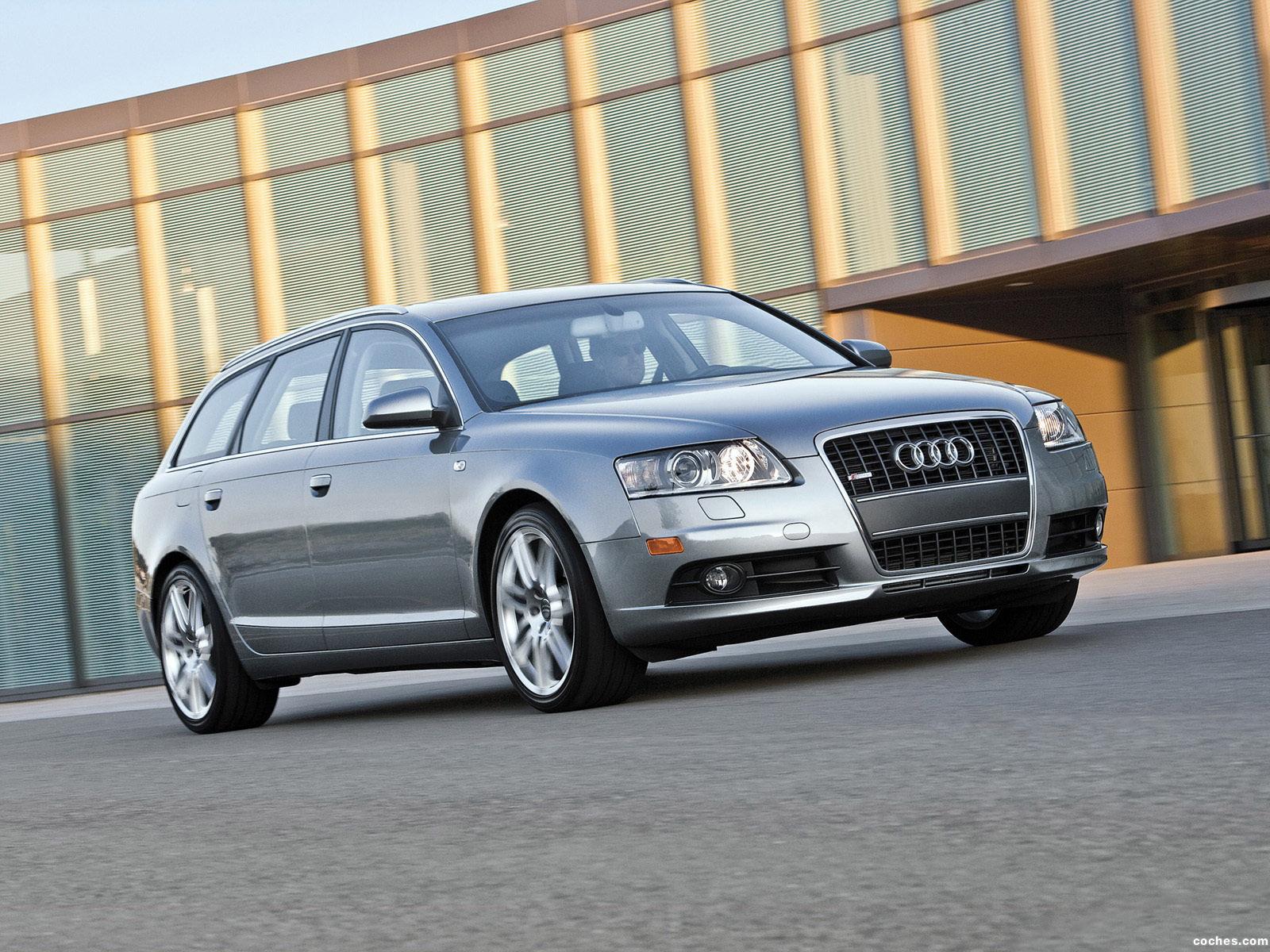 Foto 0 de Audi A6 3.2 Quattro S-Line Avant USA 2007