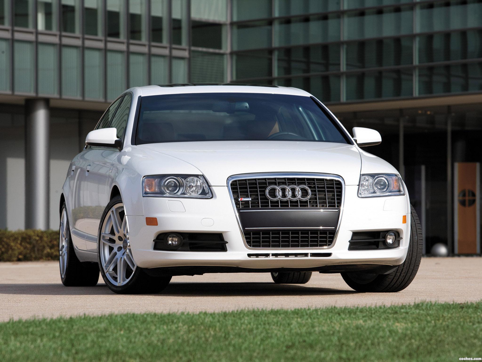 Foto 0 de Audi A6 4.2 Quattro S-Line Sedan USA 2007