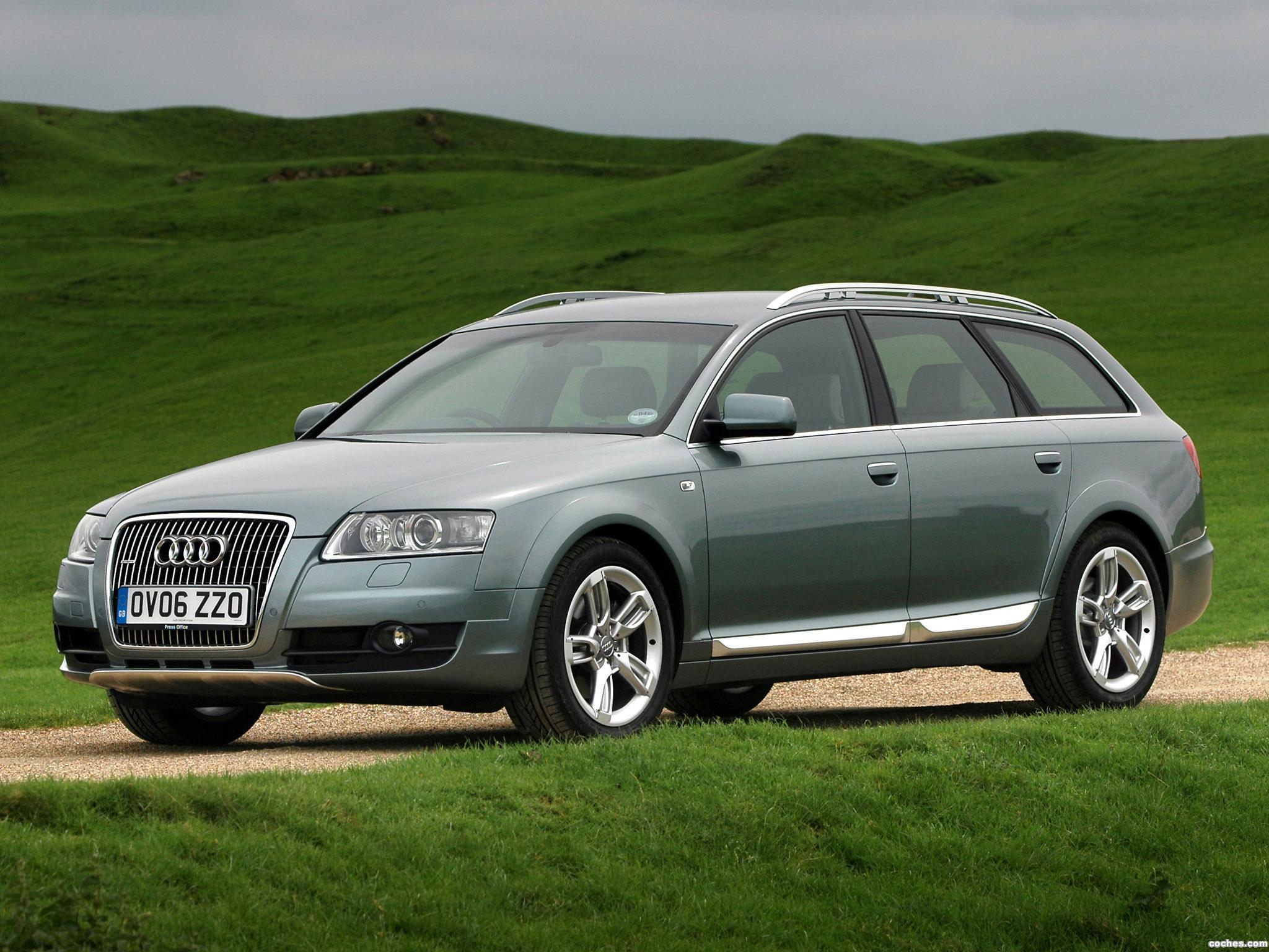 Foto 0 de Audi A6 Allroad 2.7 TDI Quattro UK 2008