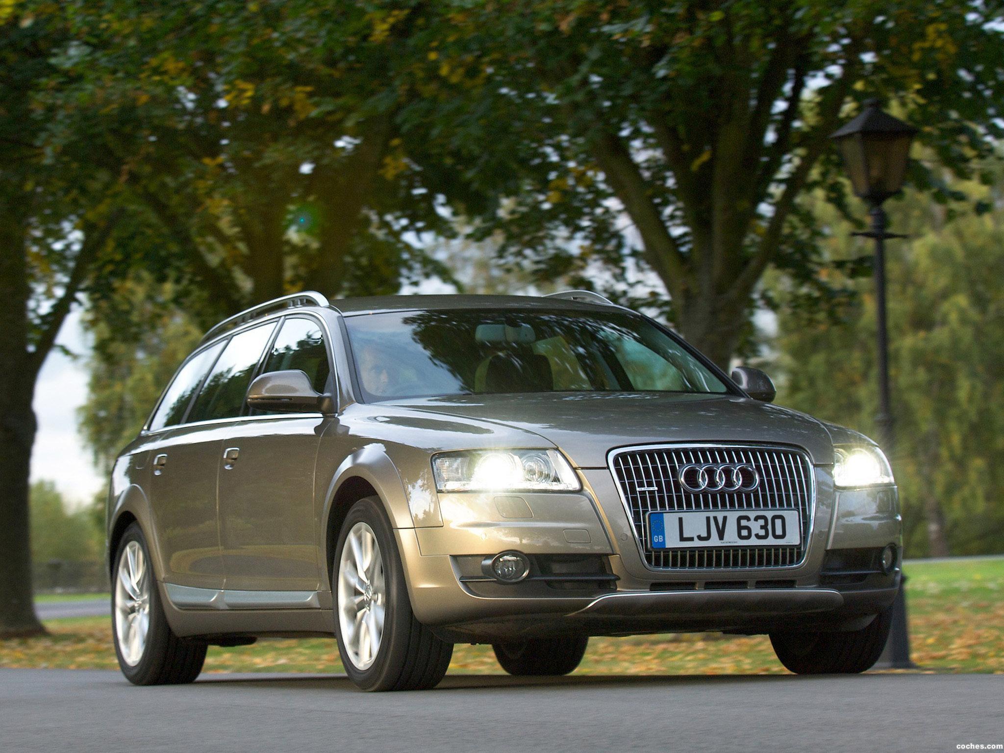 Foto 6 de Audi A6 Allroad 2.7 TDI Quattro UK 2008