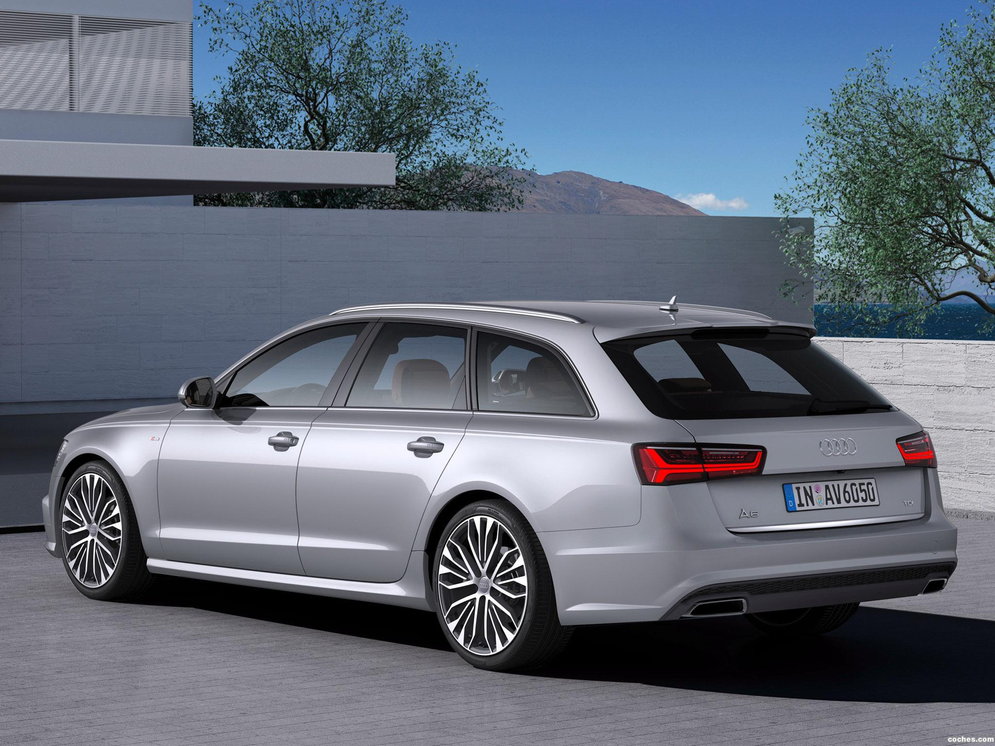 fotos de audi a6 avant 2 0 tdi s line 2015 foto 1. Black Bedroom Furniture Sets. Home Design Ideas