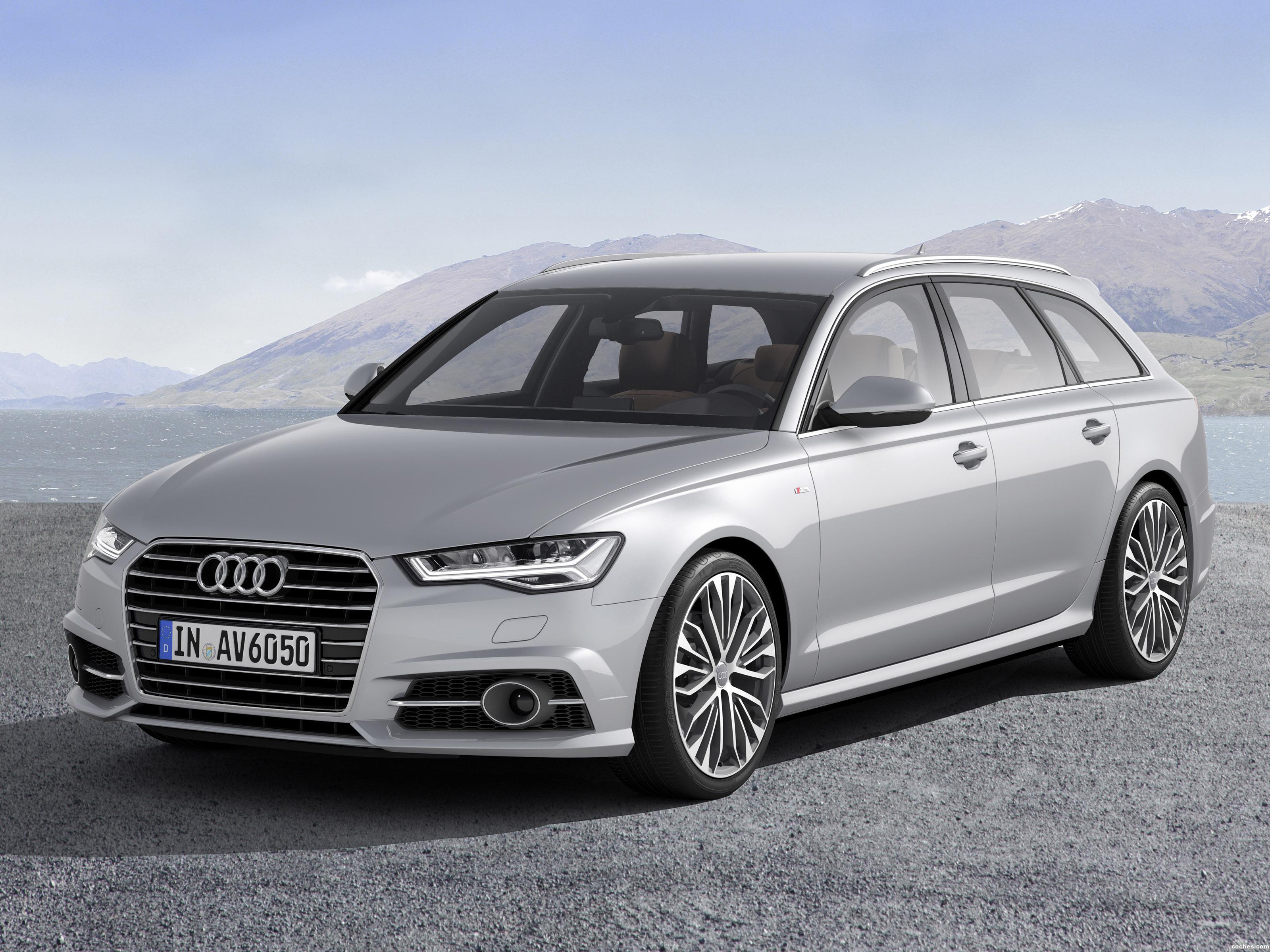 Foto 0 de Audi A6 Avant 2.0 TDI S-Line 2015