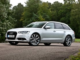 Fotos de Audi A6 Avant 2.0 TDi Ultra UK 2014