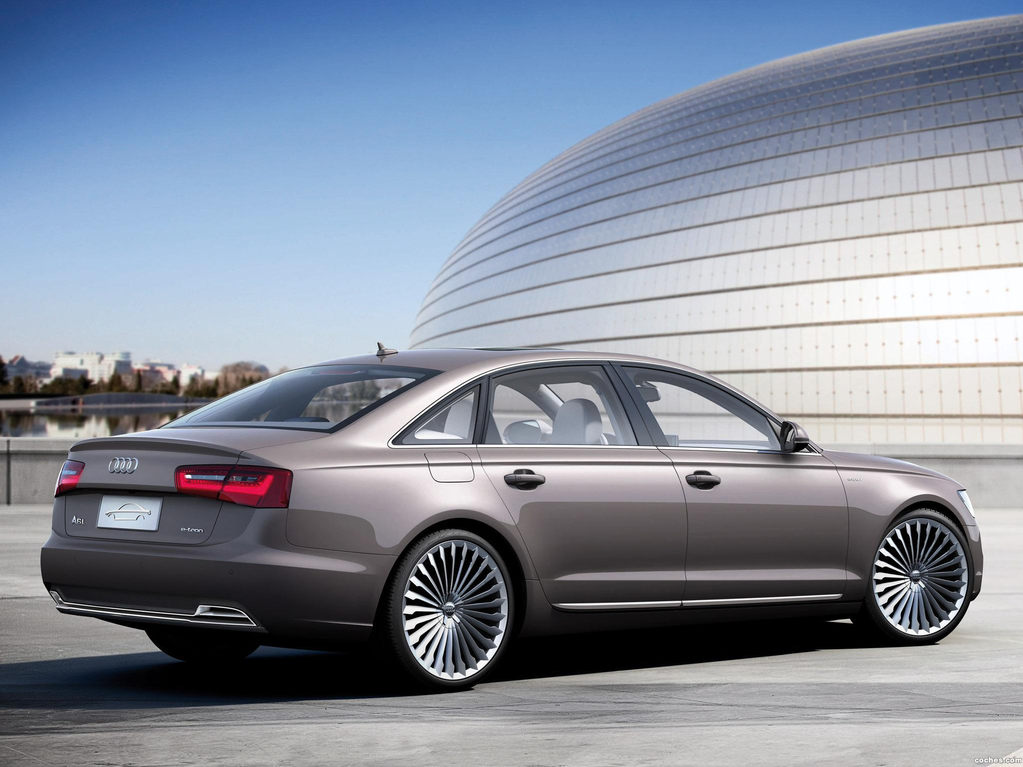 Foto 2 de Audi A6 L e-Tron Concept 2012