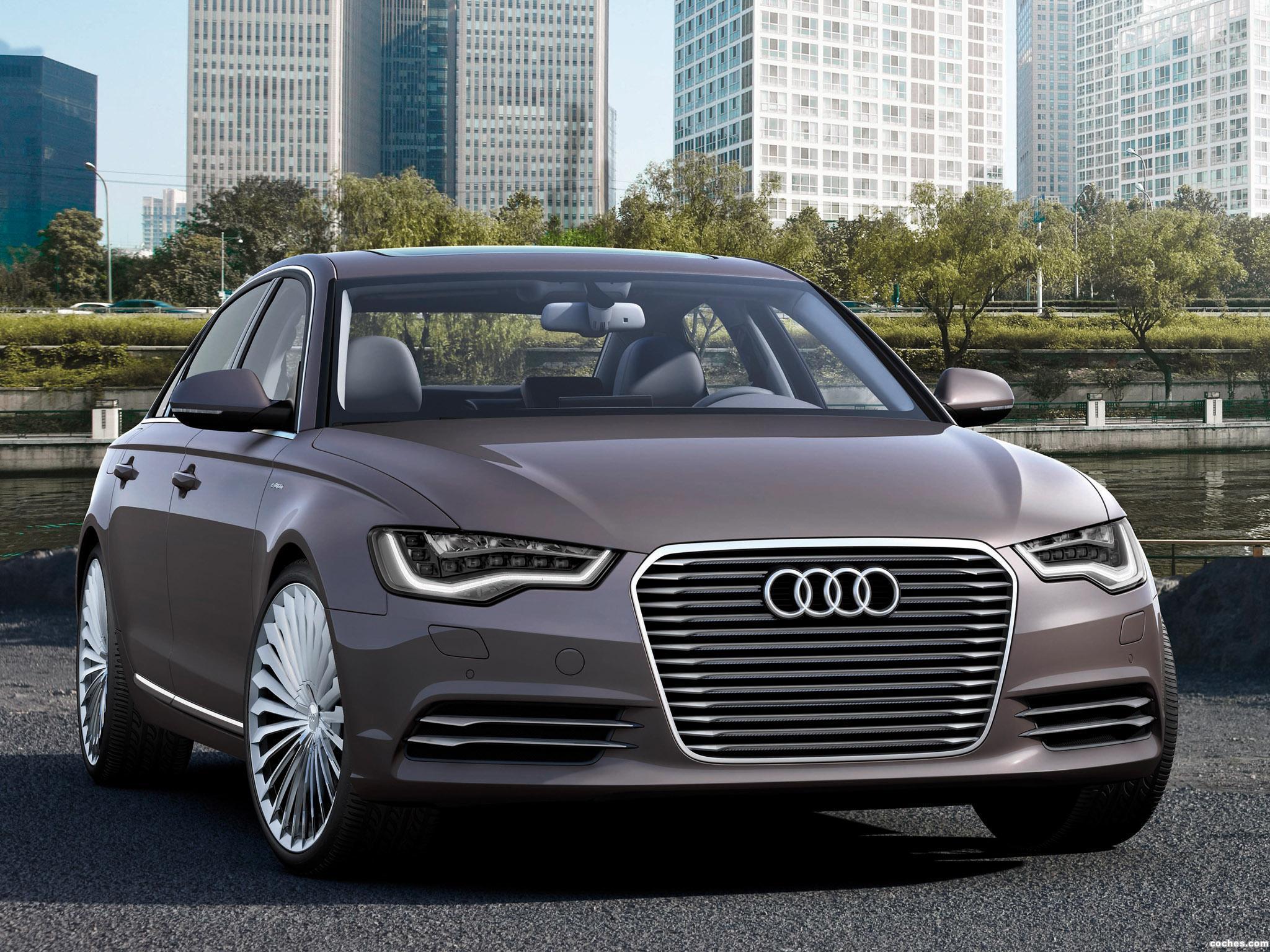 Foto 0 de Audi A6 L e-Tron Concept 2012