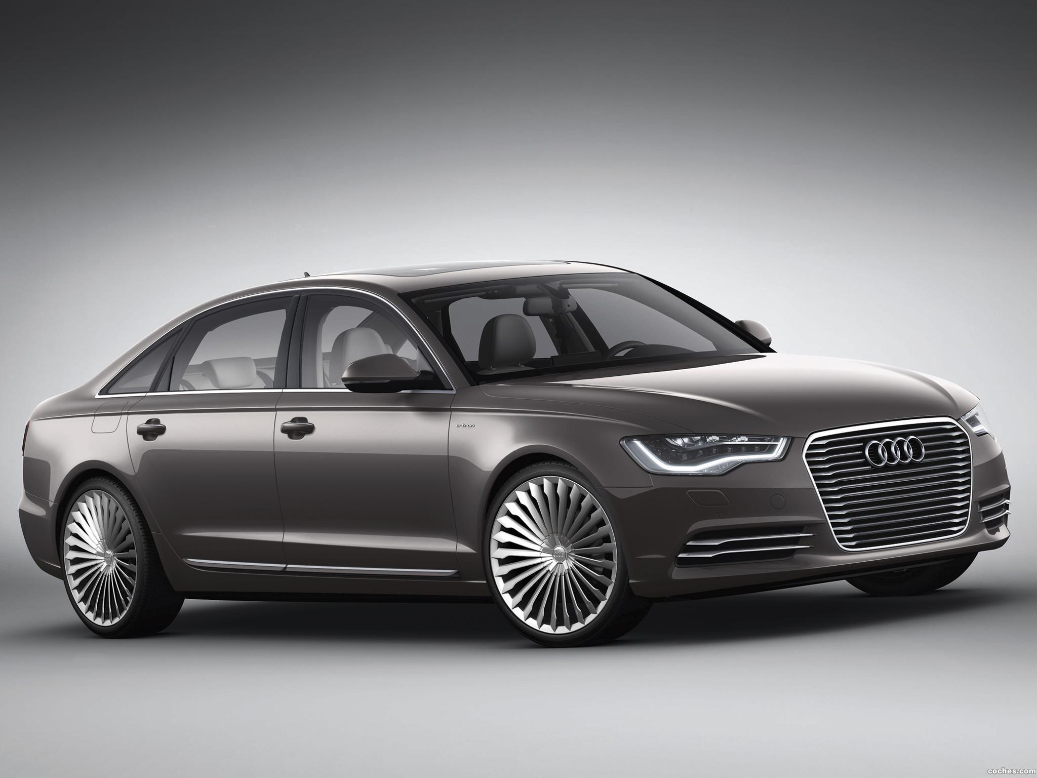Foto 7 de Audi A6 L e-Tron Concept 2012