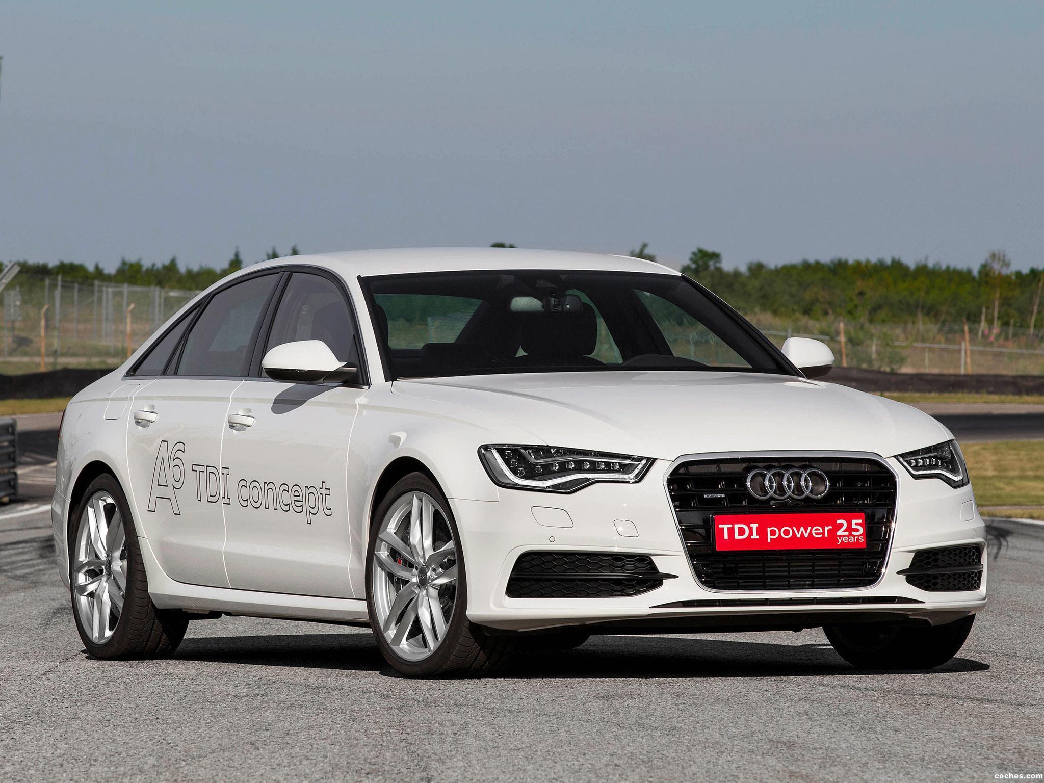 Foto 0 de Audi A6 TDI Concept 2014