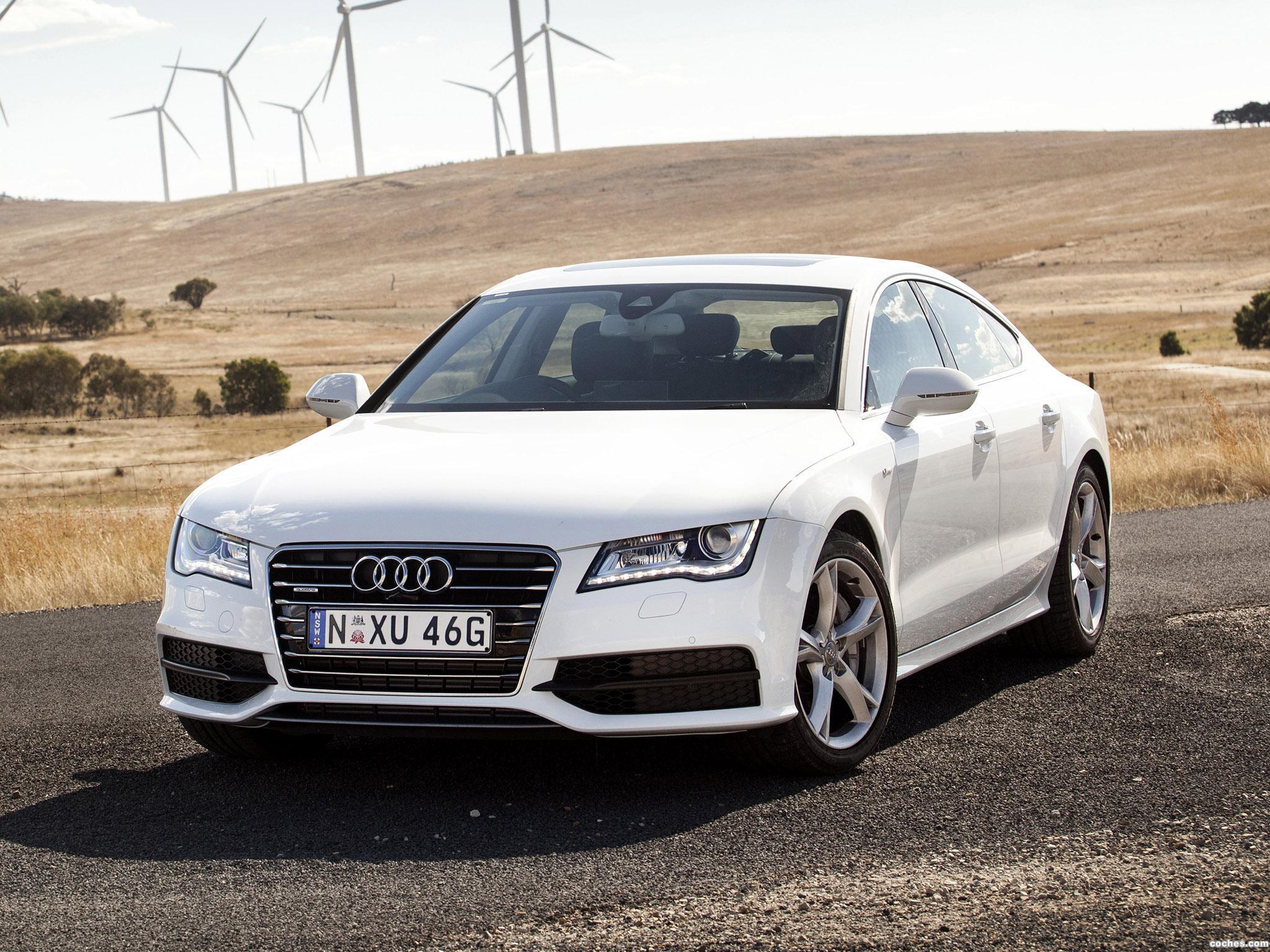 Foto 0 de Audi A7 Sportback 3.0 Biturbo Quattro S-Line Australia 2013