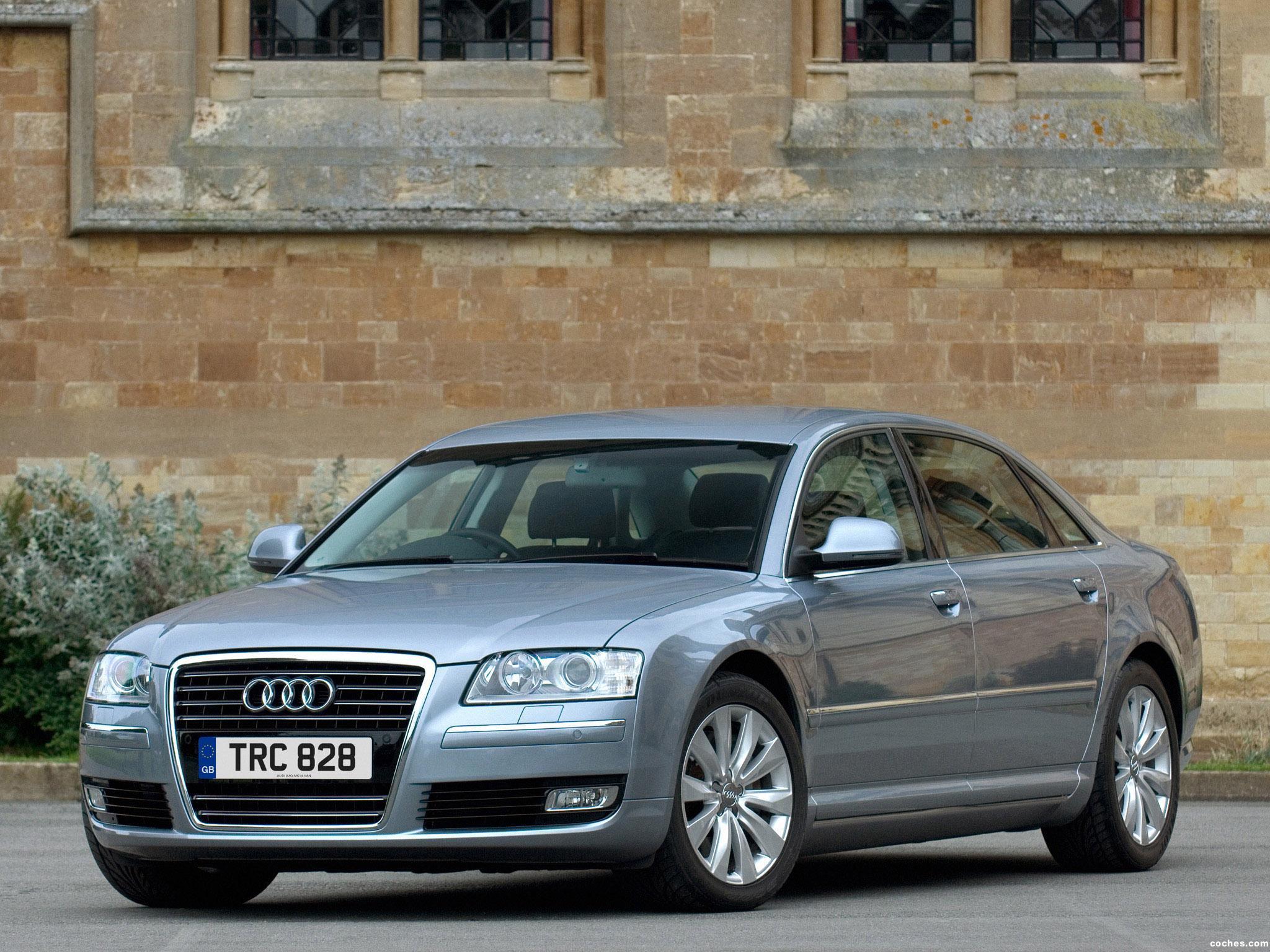 Foto 0 de Audi A8 2.8 FSI D3 UK 2007