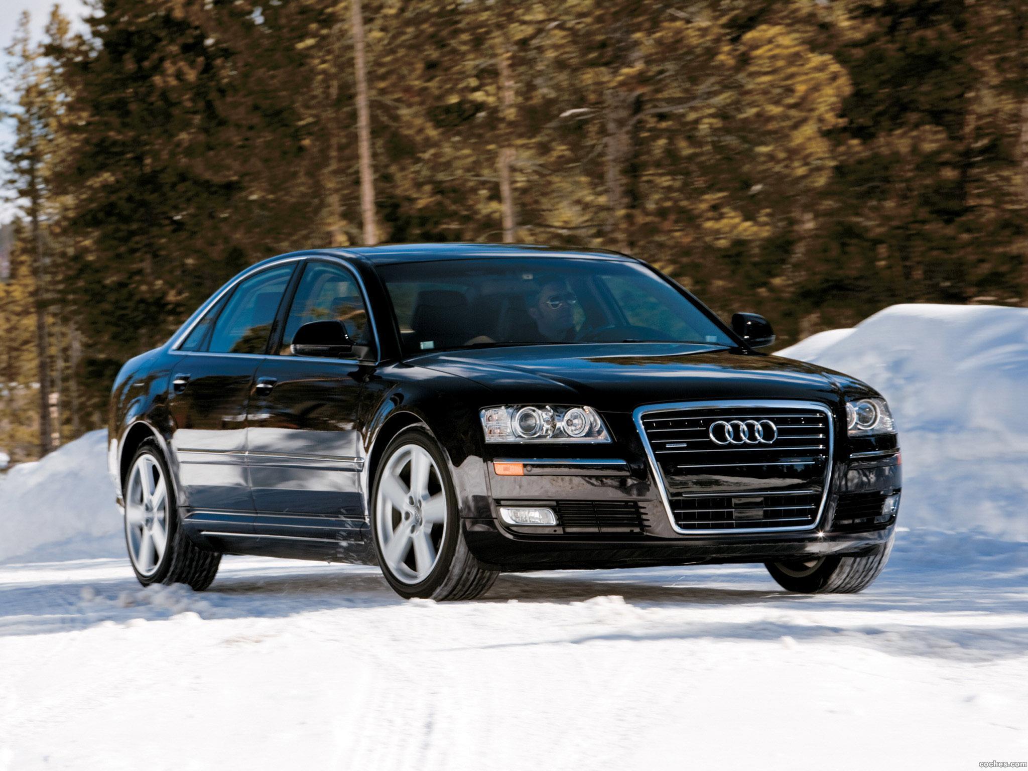 Foto 5 de Audi A8 4.2 Quattro D3 USA 2008