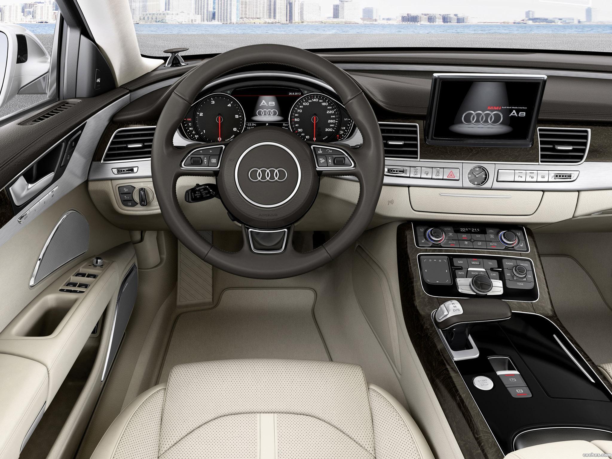 Foto 6 de Audi A8 TDI Quattro D4 2013