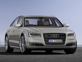 Ver foto 1 de Audi A8 TDI Quattro D4 2013