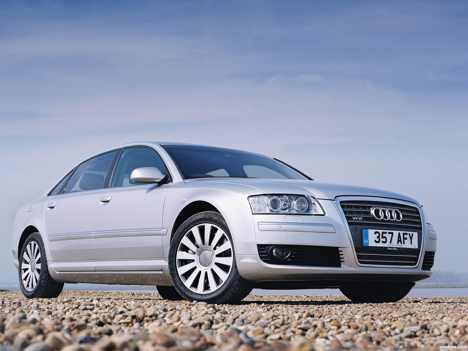 Foto 0 de Audi A8L 6.0 Quattro D3 UK 2005