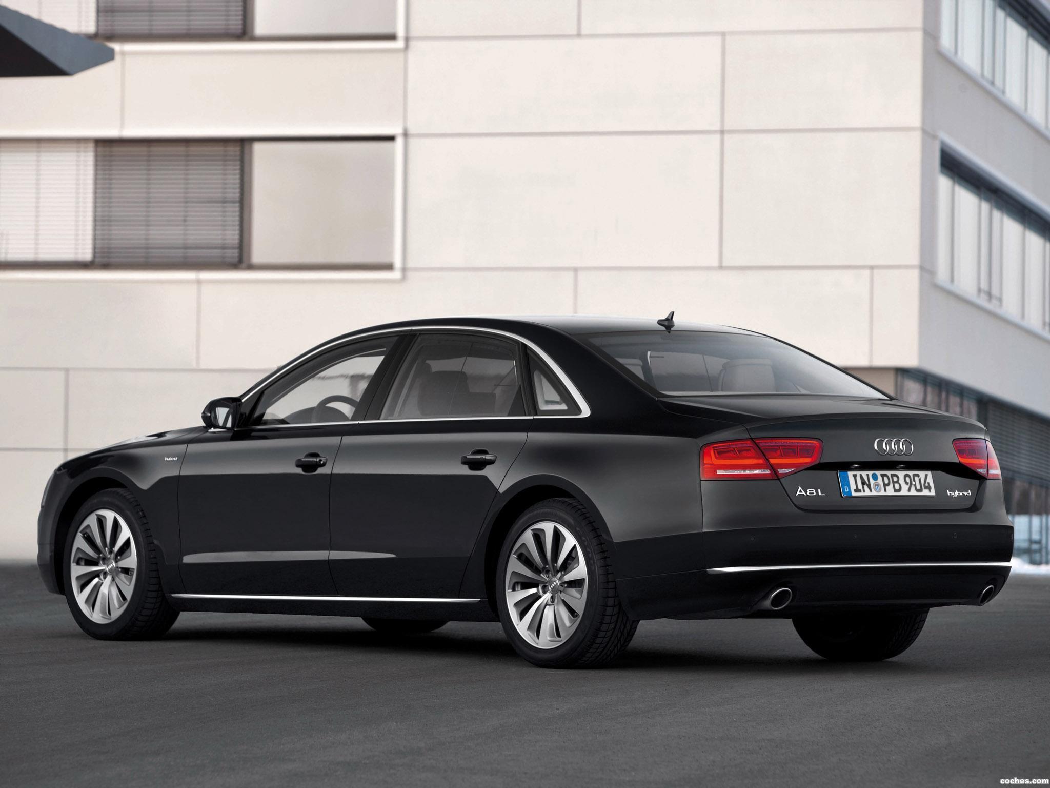 Foto 6 de Audi A8L Hybrid D4 2012