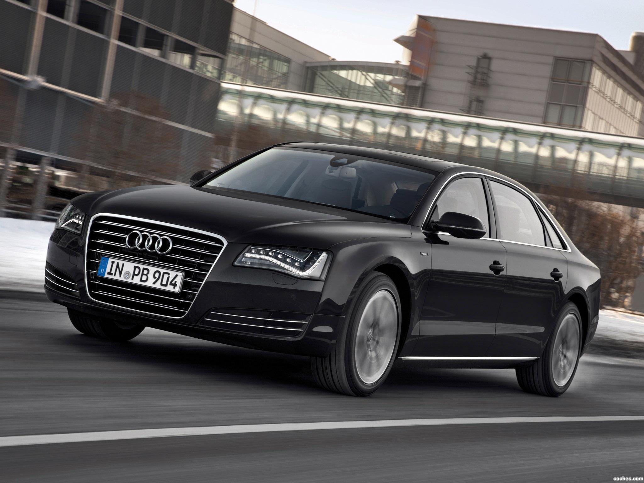 Foto 0 de Audi A8L Hybrid D4 2012