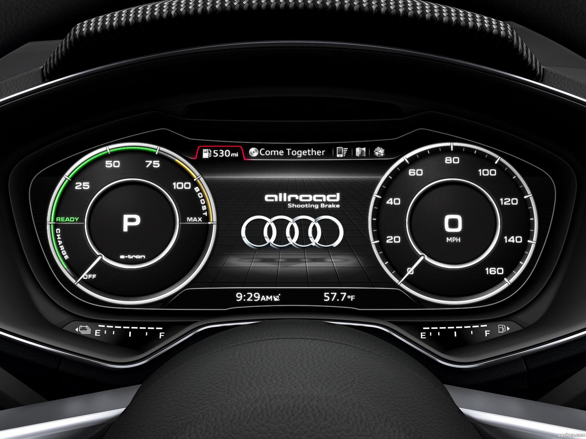 Foto 5 de Audi Allroad Shooting Brake e-Tron Concept 2014