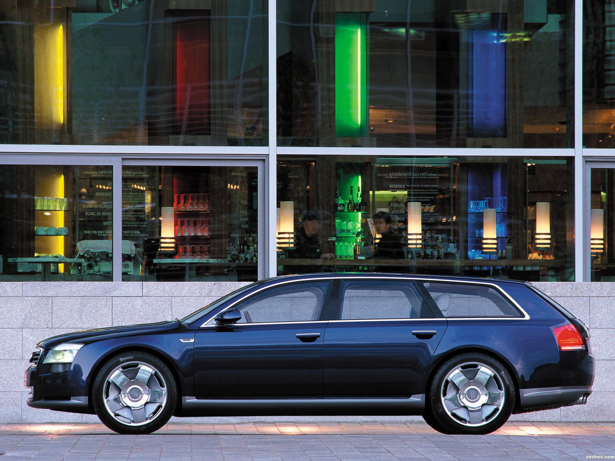 Foto 7 de Audi Avantissimo Concept 2001