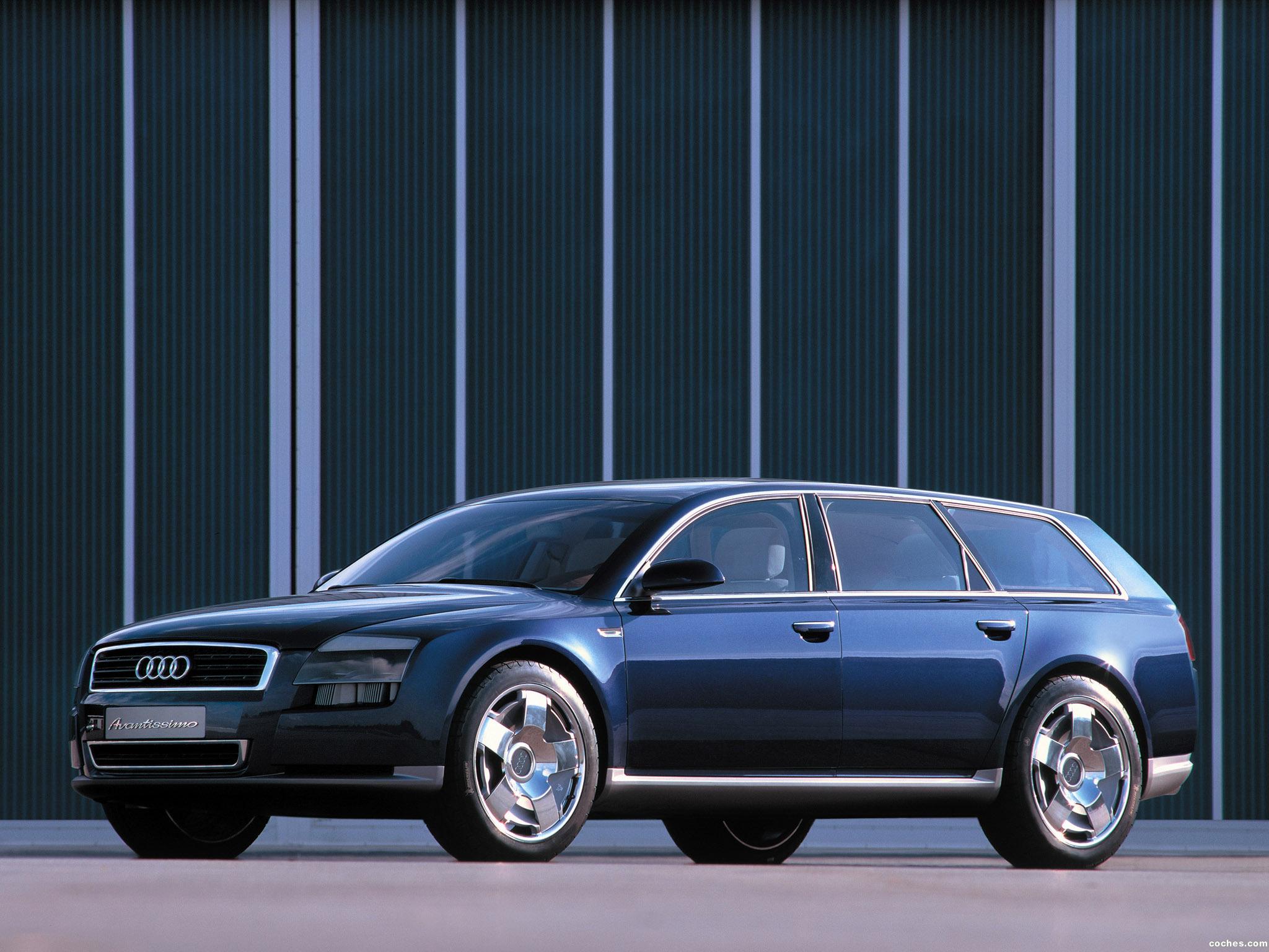 Foto 4 de Audi Avantissimo Concept 2001