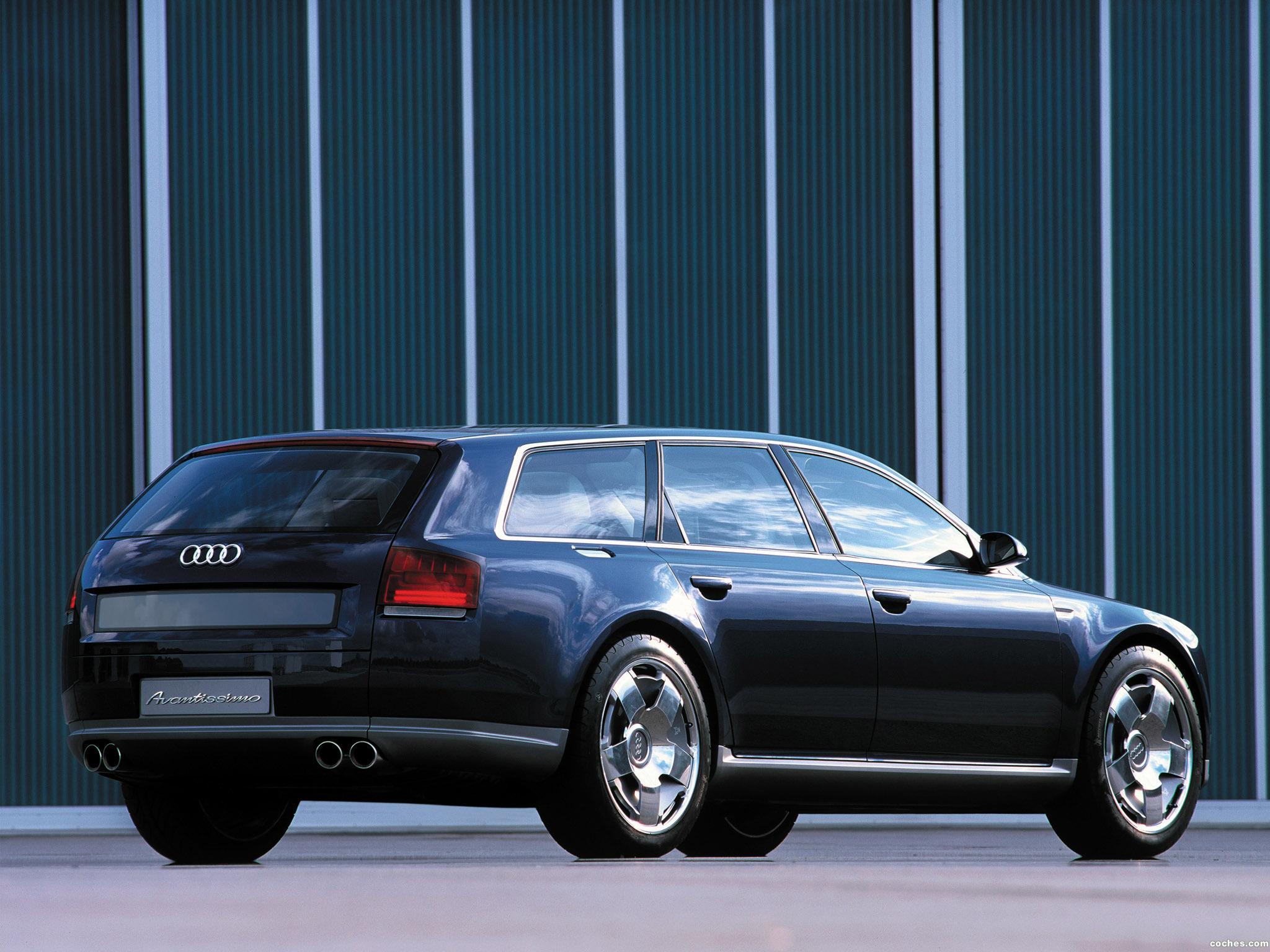 Foto 3 de Audi Avantissimo Concept 2001
