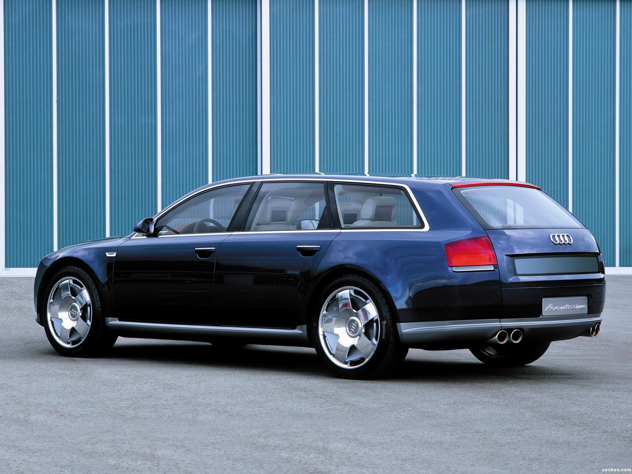 Foto 2 de Audi Avantissimo Concept 2001