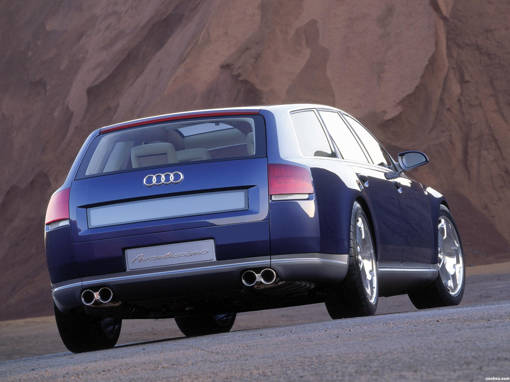 Foto 16 de Audi Avantissimo Concept 2001