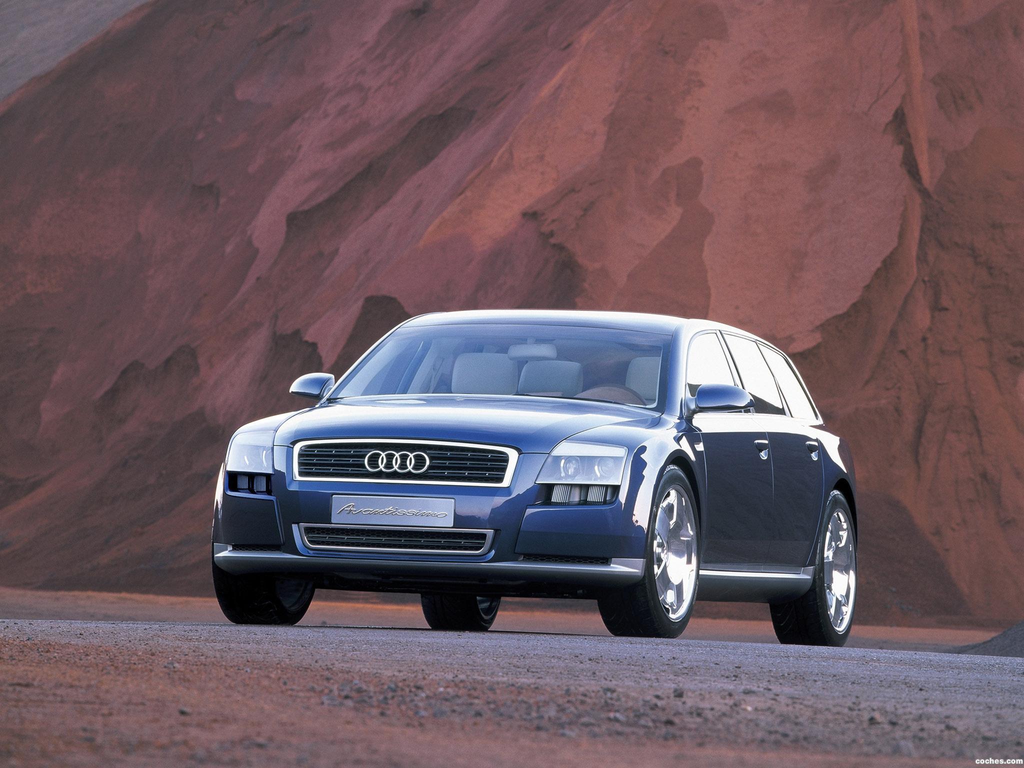 Foto 15 de Audi Avantissimo Concept 2001