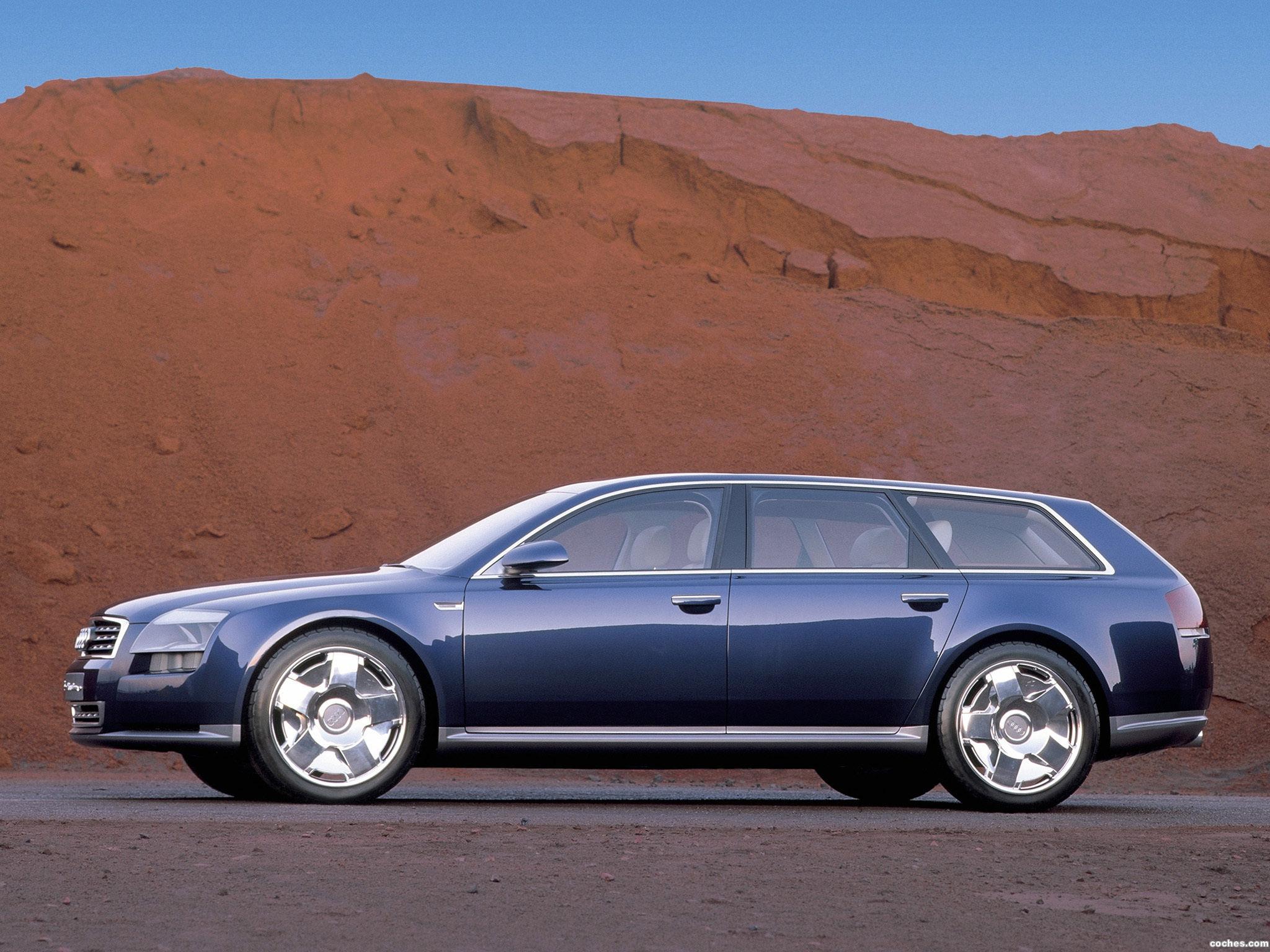 Foto 14 de Audi Avantissimo Concept 2001