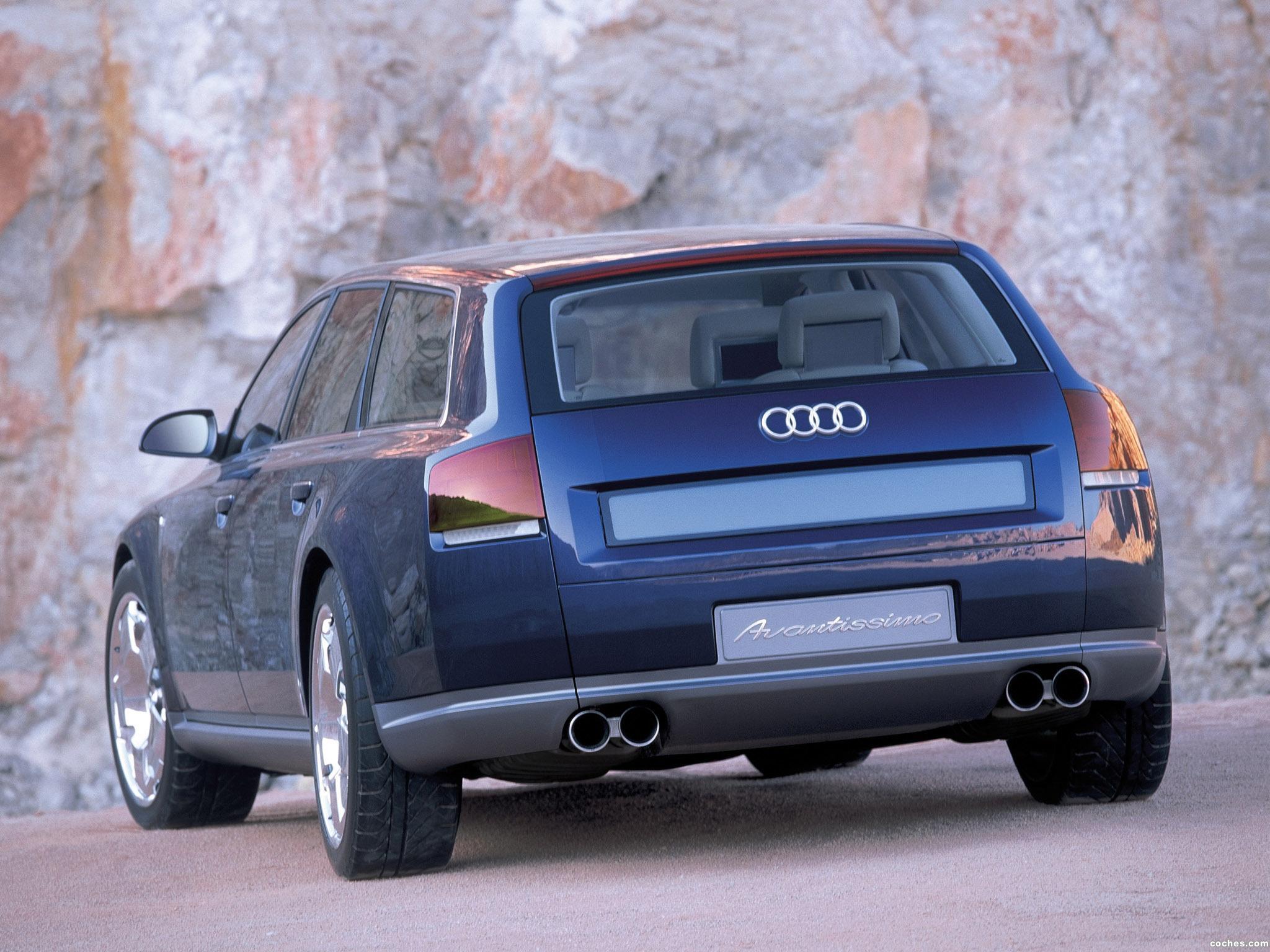 Foto 12 de Audi Avantissimo Concept 2001