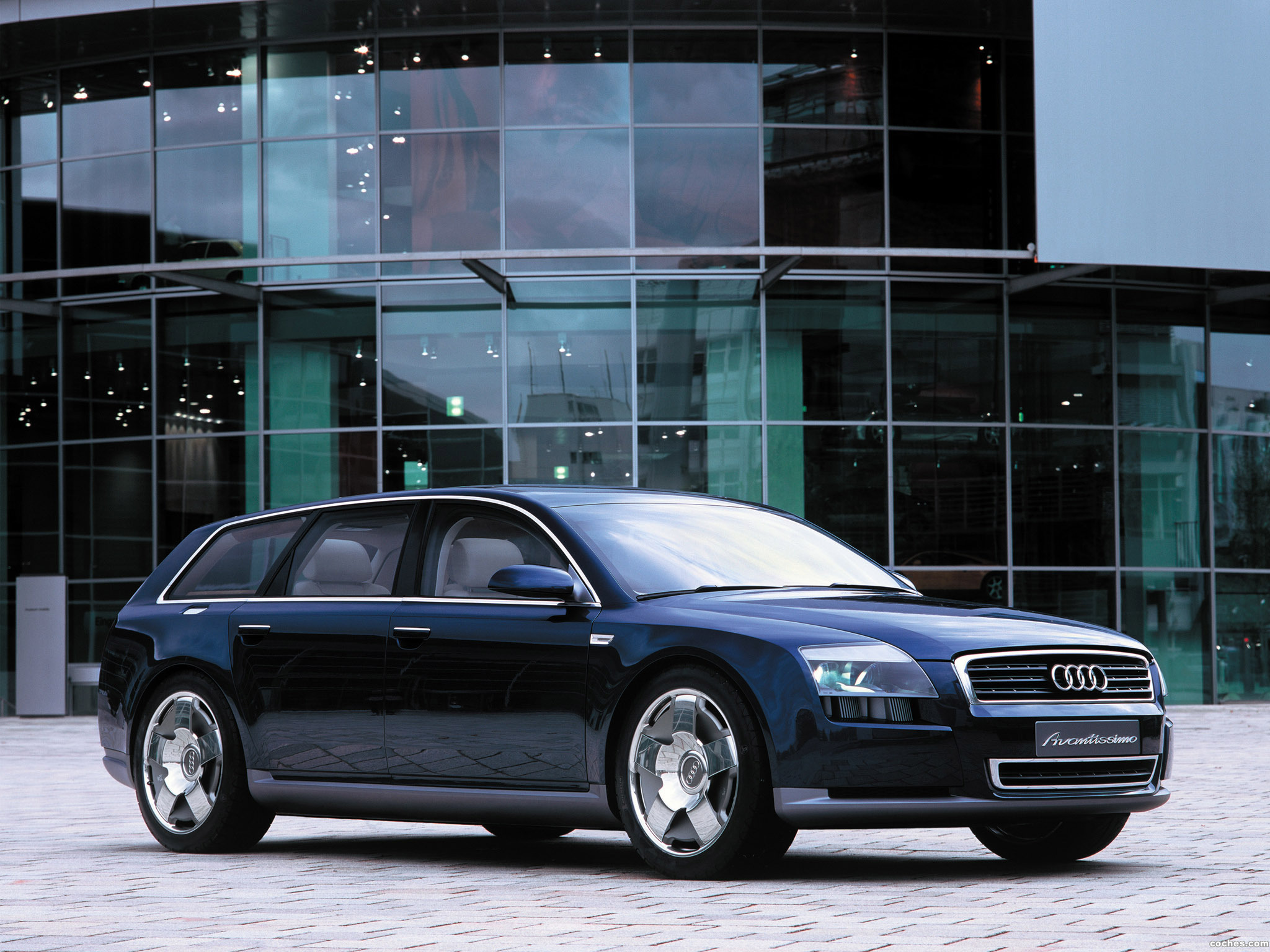 Foto 10 de Audi Avantissimo Concept 2001