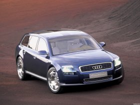 Ver foto 9 de Audi Avantissimo Concept 2001